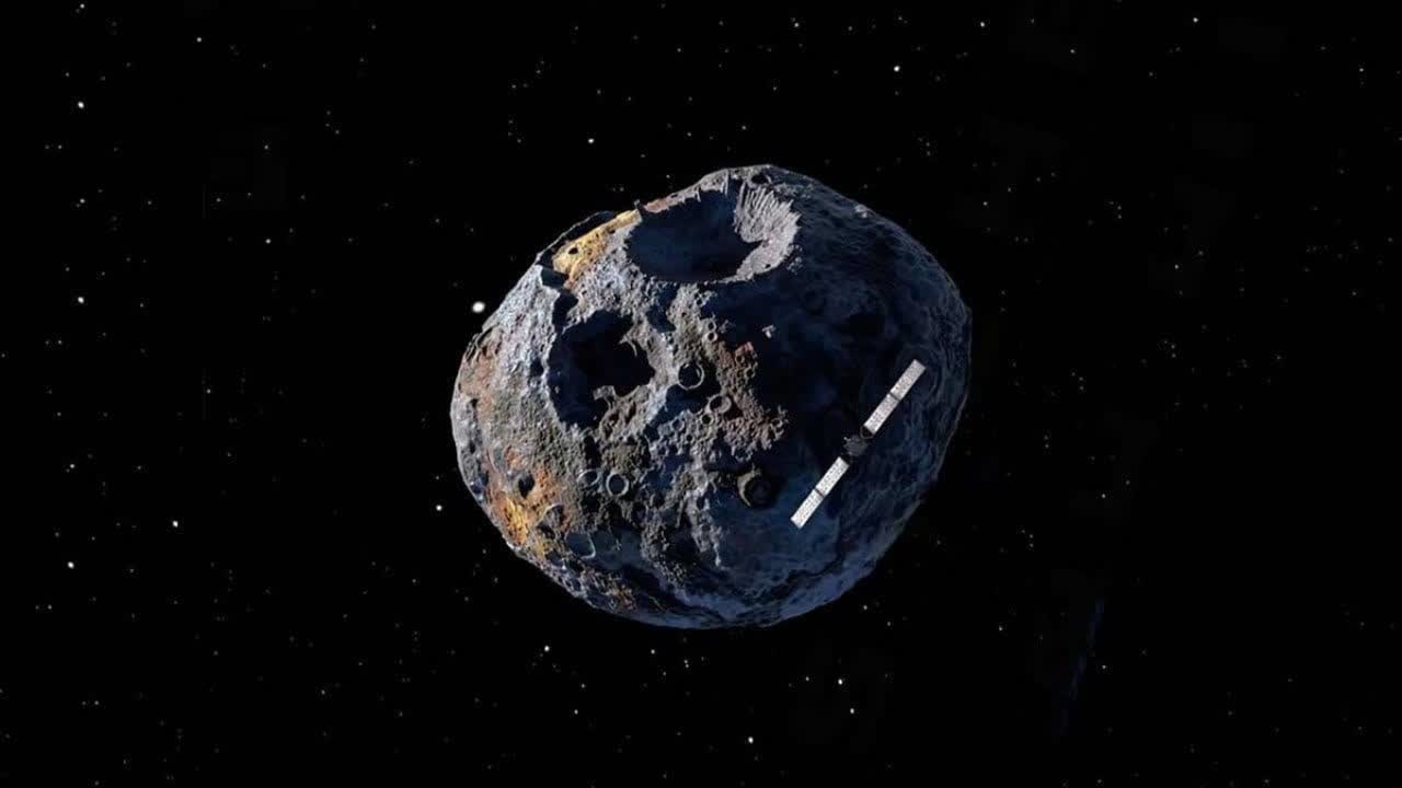 Hubble spies 16 Psyche, an asteroid worth $10,000 quadrillion