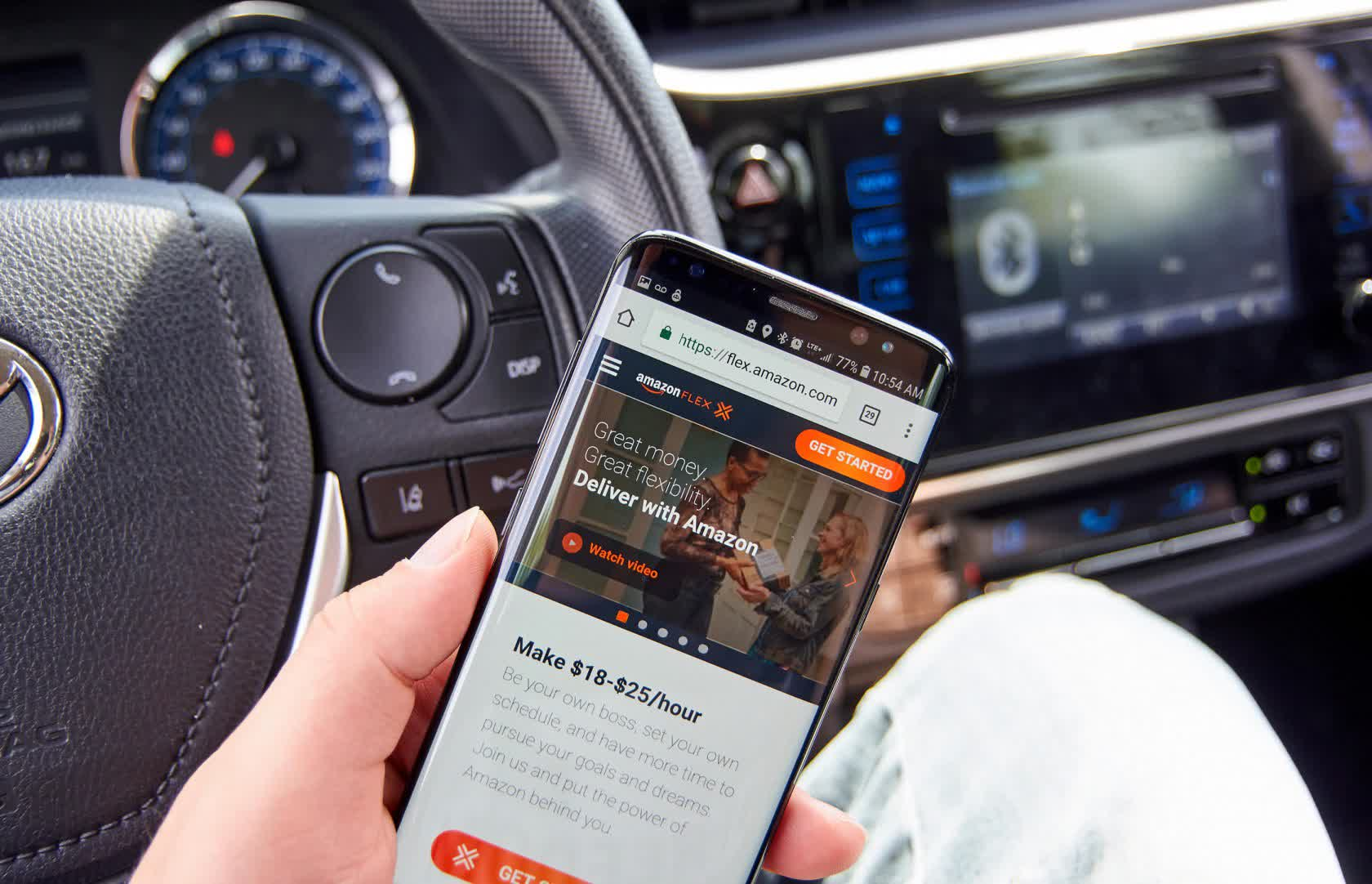 Amazon launches a rewards program for its independent 'Flex' drivers