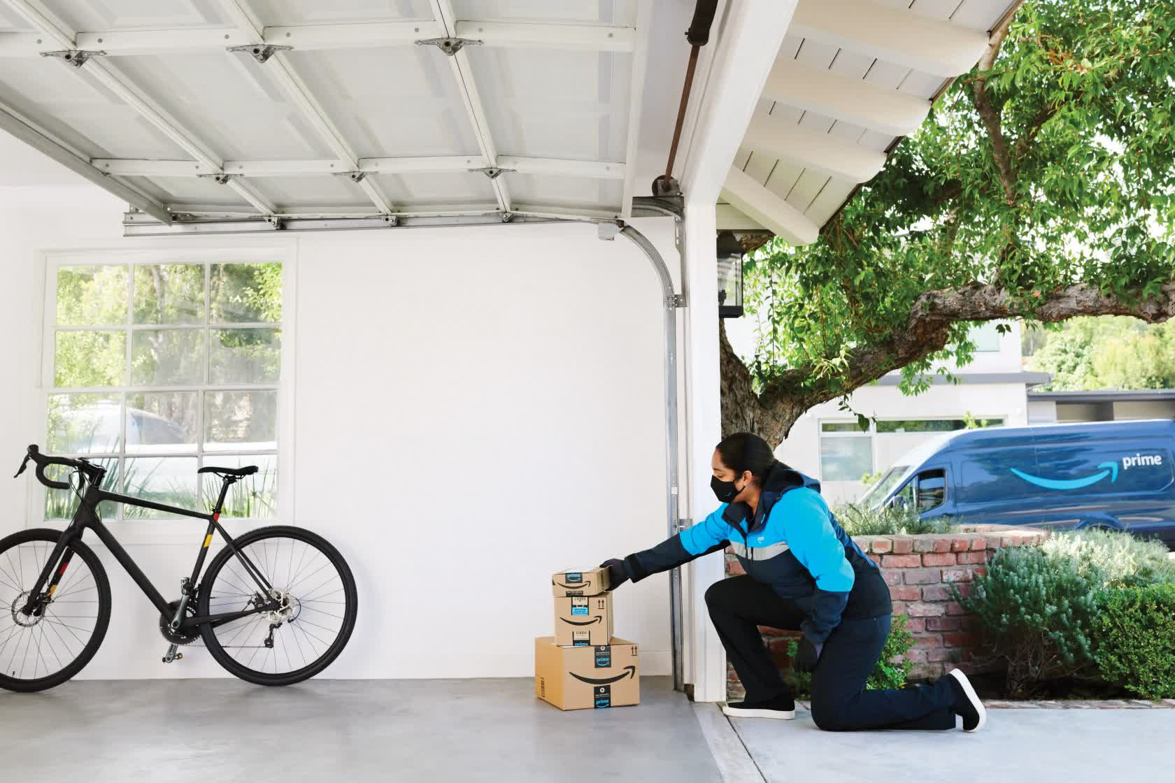 Amazon now offers in-garage delivery across 4,000 US cities