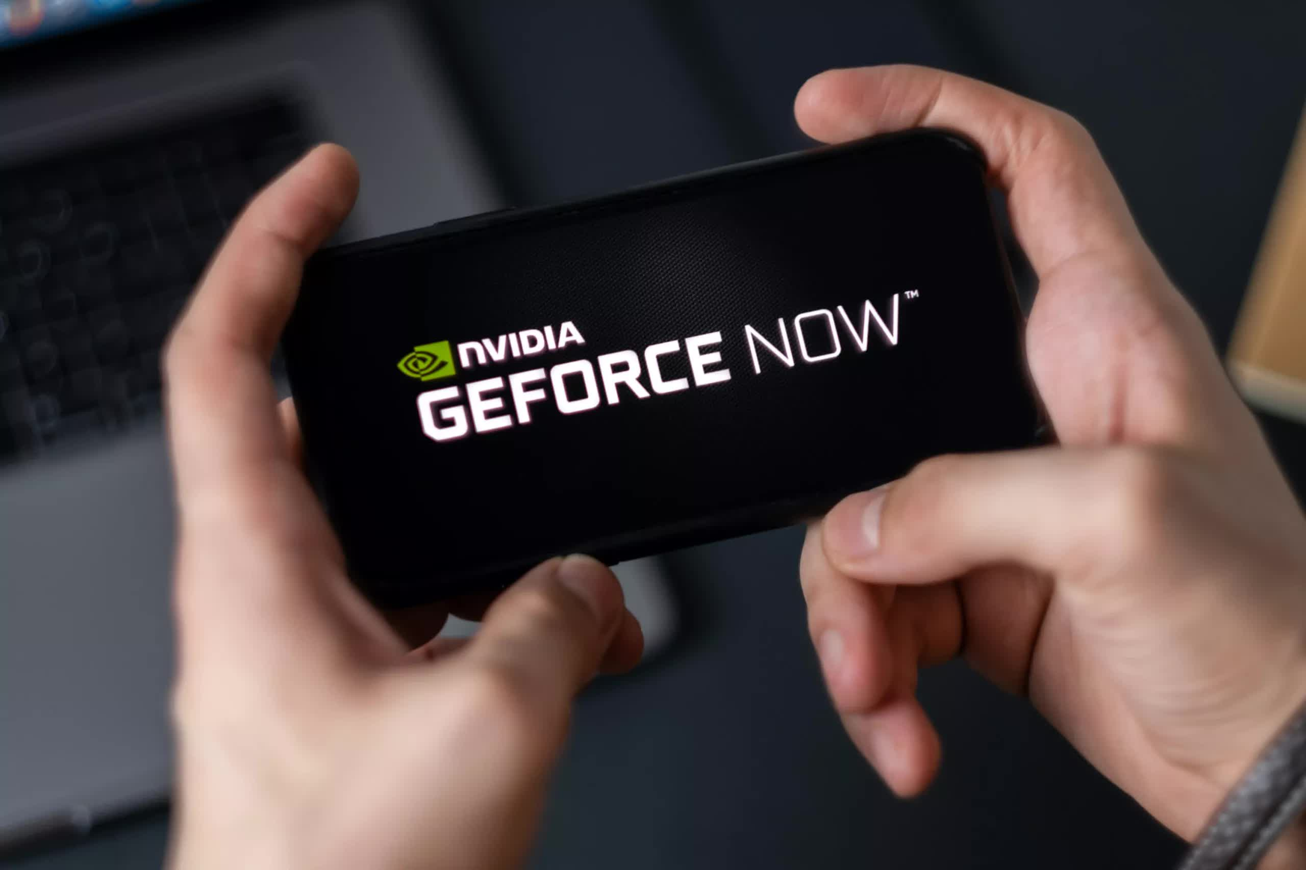 GeForce Now cloud gaming service is now available as a web app for iPhone and iPad