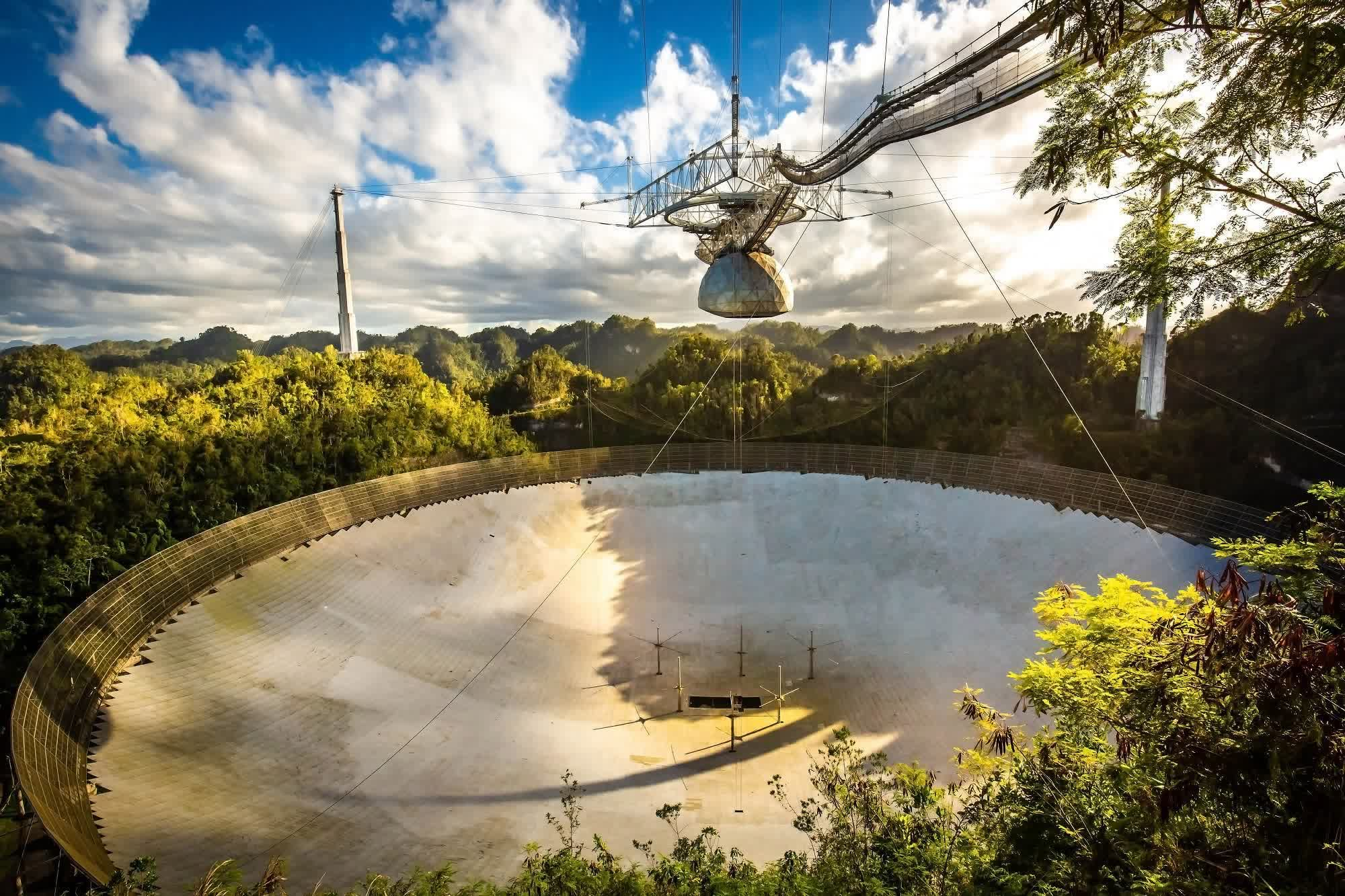 The iconic Arecibo space telescope is being decommissioned as it nears collapse