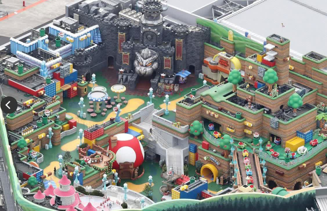 Check out the latest photos of Nintendo's awesome theme park