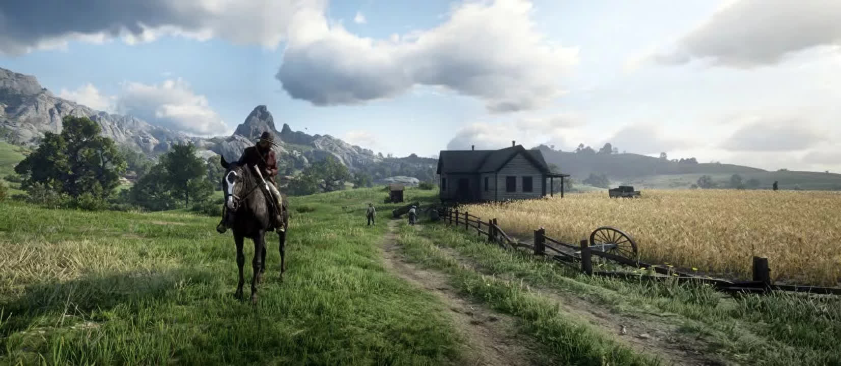 Red Dead Redemption 2 screenshot gets mistaken for the real outdoors in news segment