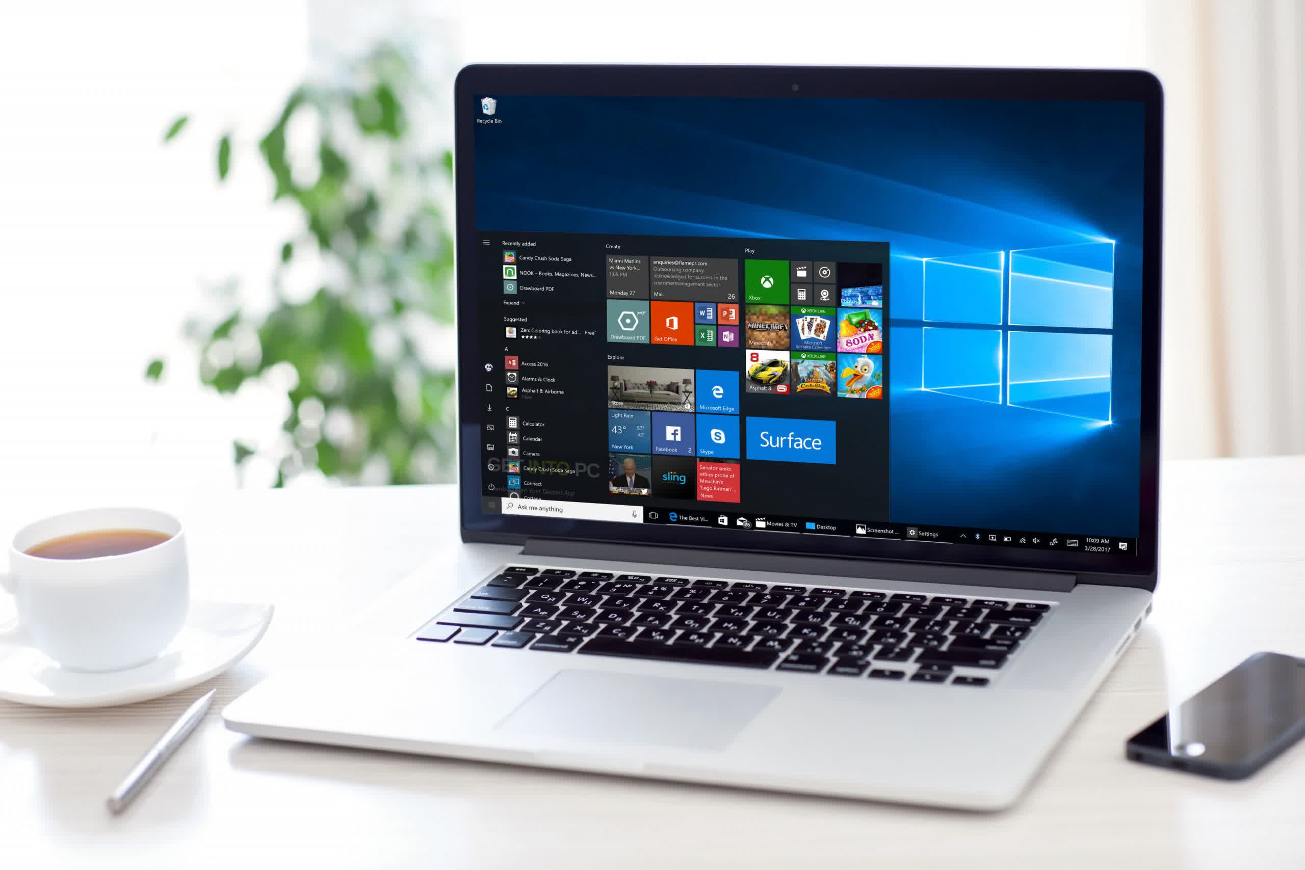 'Windows 10 on Arm' runs better on an M1 Mac than it does on the Surface Pro X