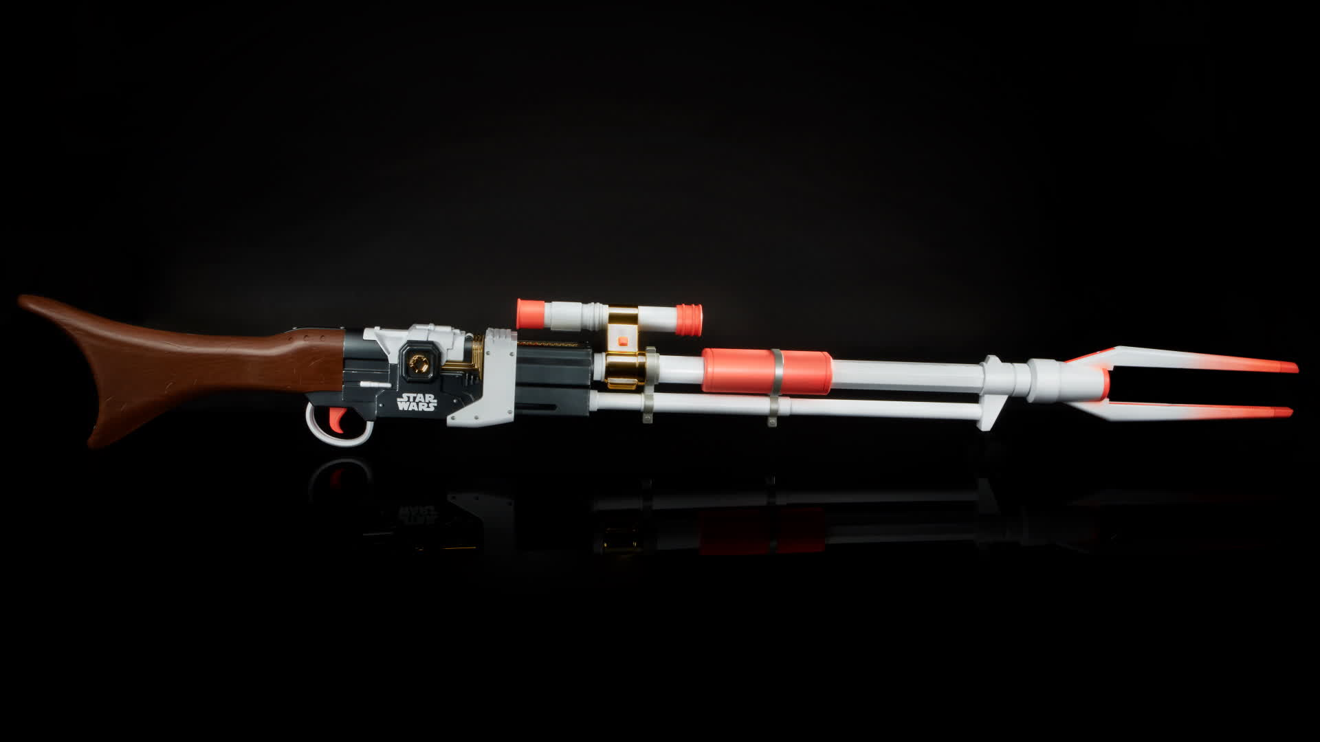 Hasbro will sell a Nerf replica of The Mandalorian's unique Amban phase-pulse blaster rifle