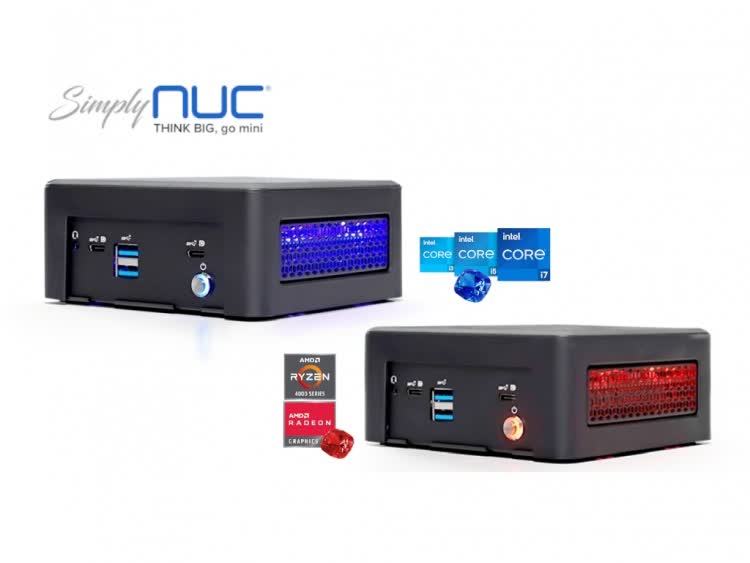 Simply NUC's latest mini-PCs feature Ryzen 4000U and Tiger Lake chips inside