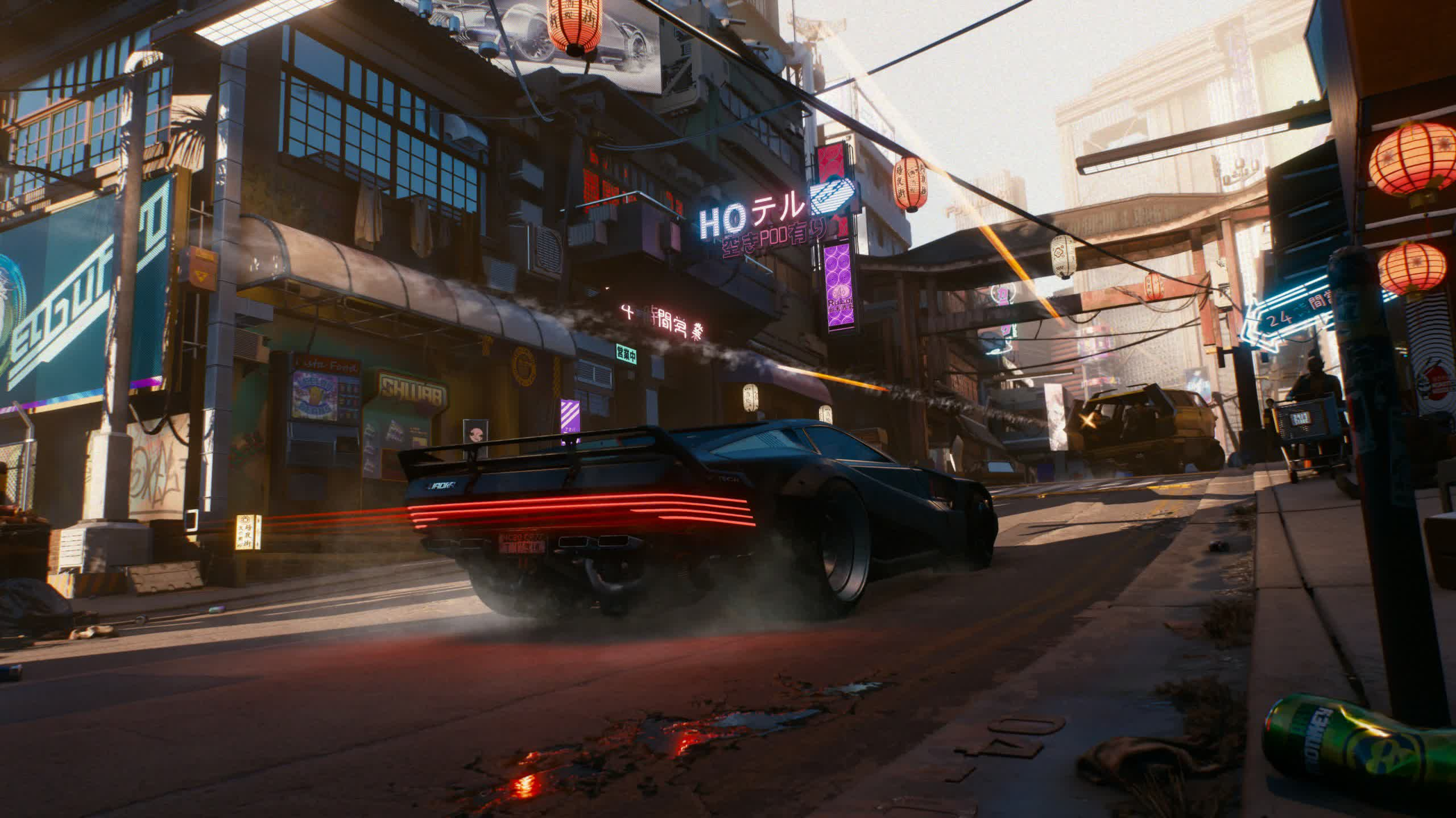 CDPR okays refunds for digital or disc copies of Cyberpunk 2077
