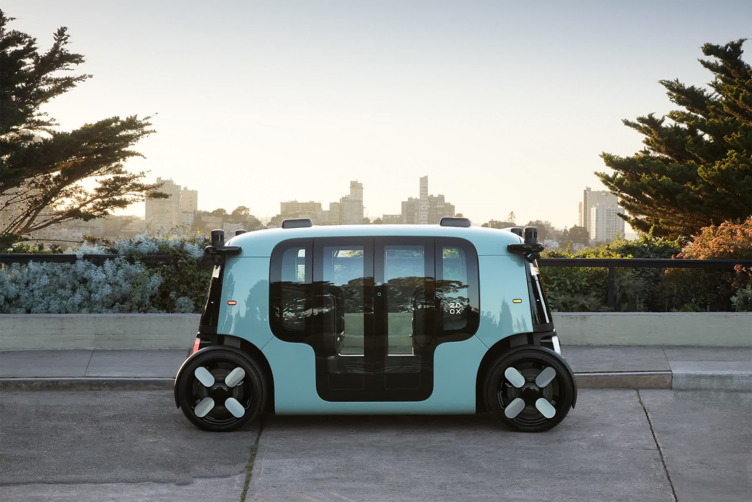 Zoox unveils its self-driving robotaxi paving the way for an Amazon ride-hailing service