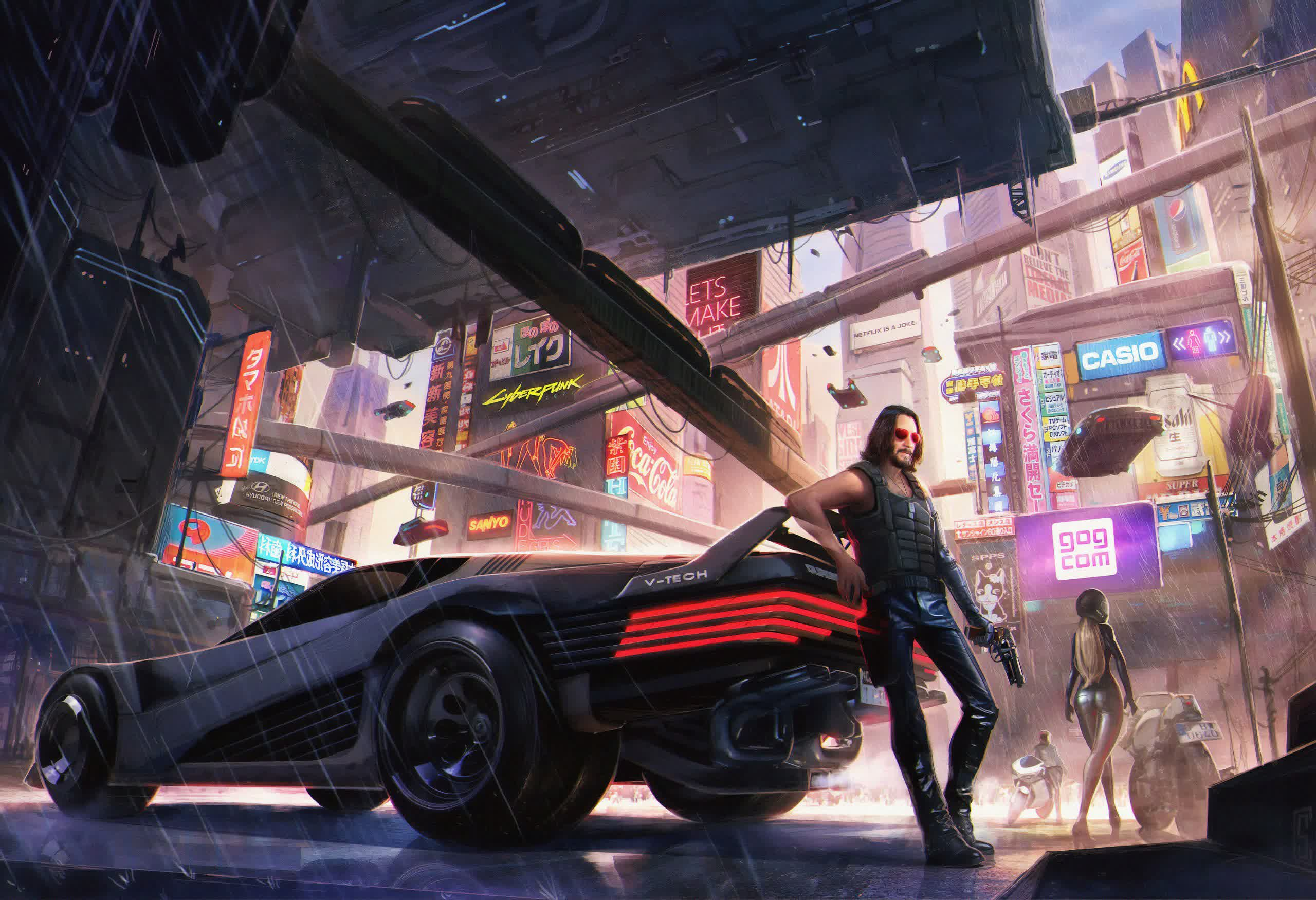 CDPR to launch 'vigorous' defense against Cyberpunk 2077 class action lawsuit