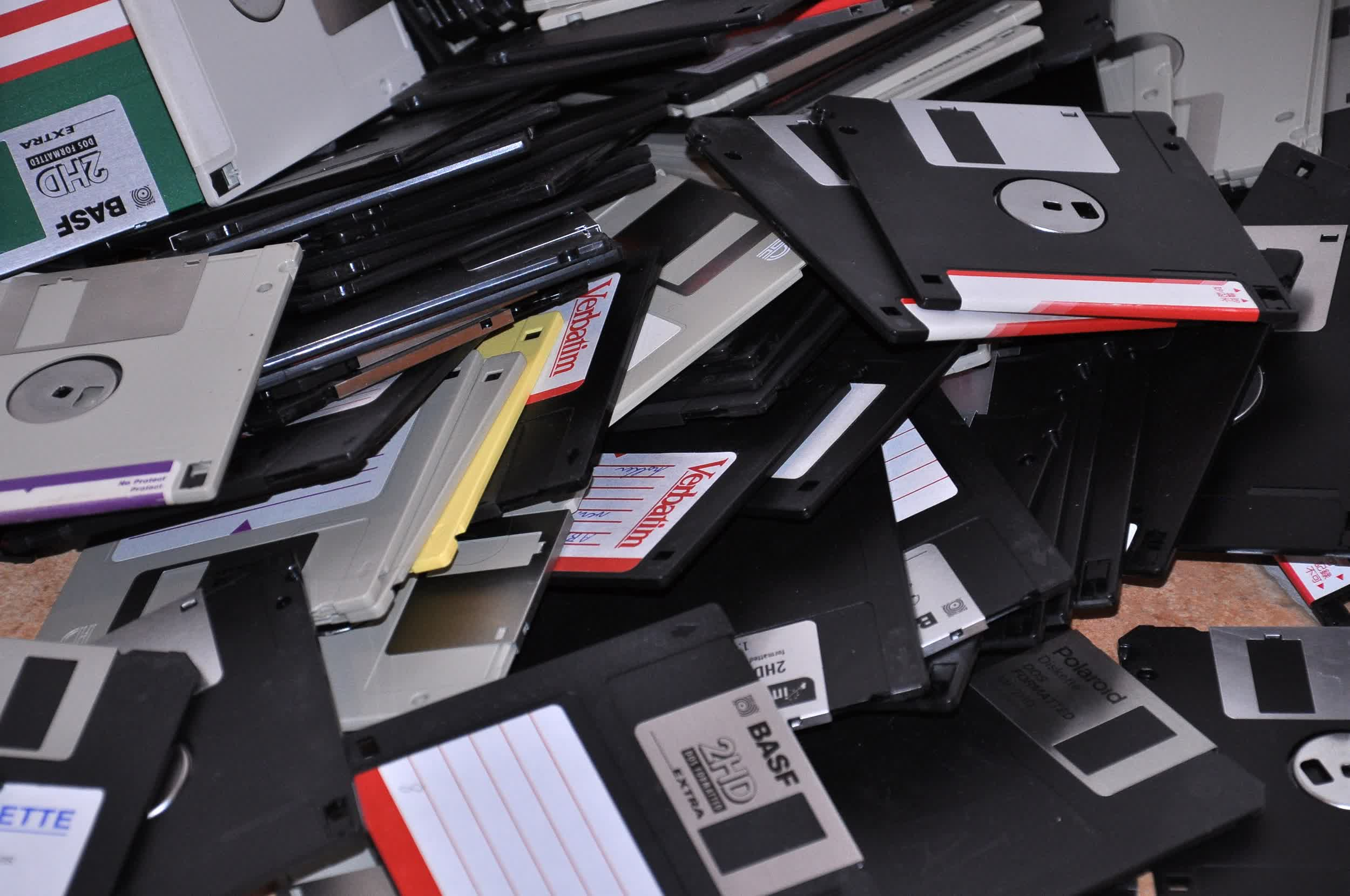 Someone crammed a full-length movie onto a 1.44MB floppy disk
