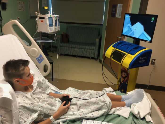 Nintendo and Starlight start rolling out Switch Stations to US hospitals