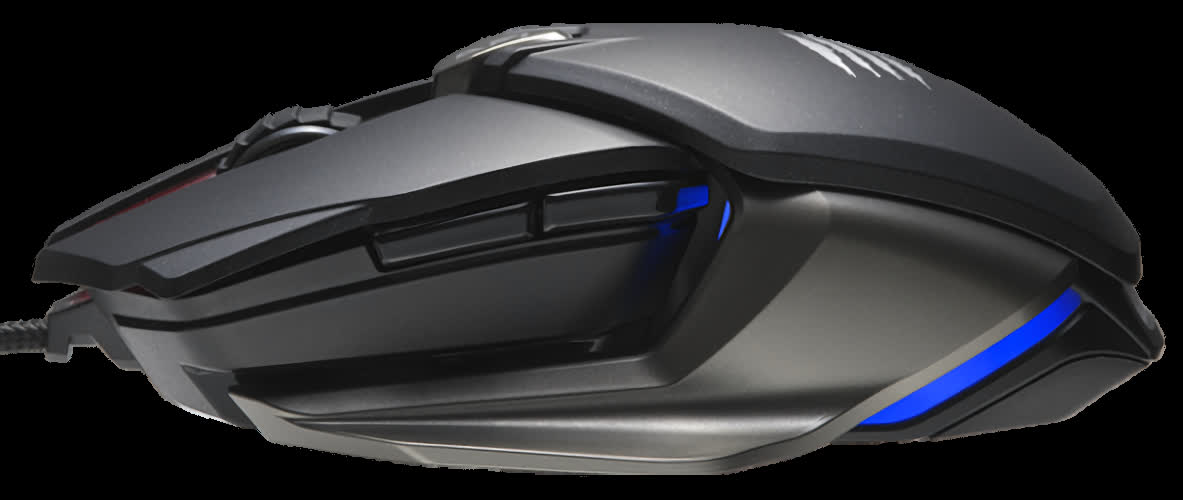 Mad Catz announces the B.A.T. 6+ gaming mouse with Dakota switches