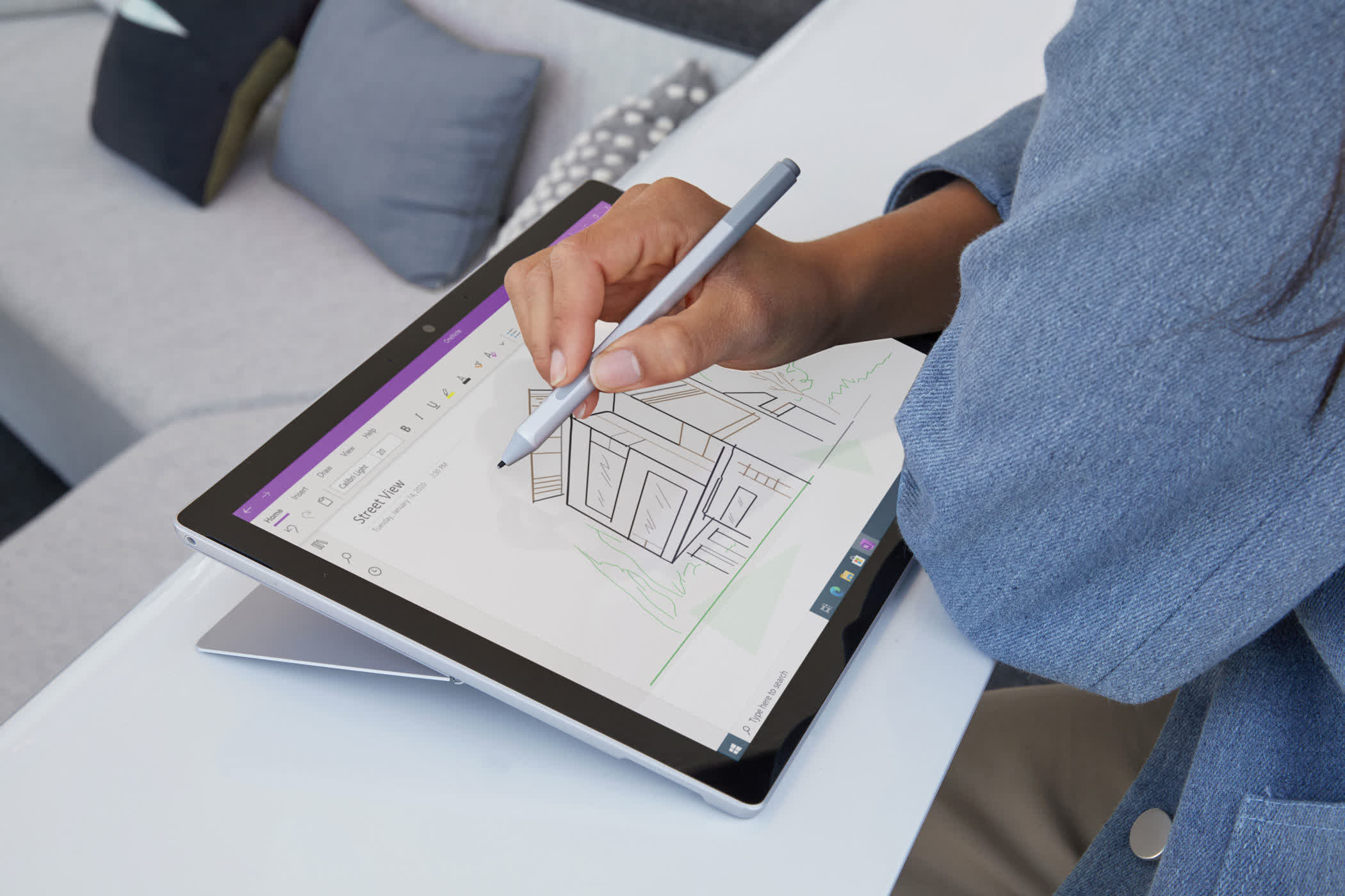 Microsoft Surface Pro 7+ comes with upgraded internals, removable SSD, and optional LTE support