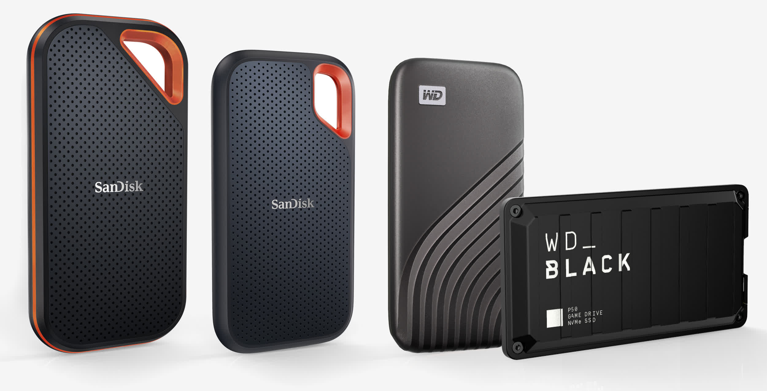 Western Digital adds 4TB options to its portable SSD lines