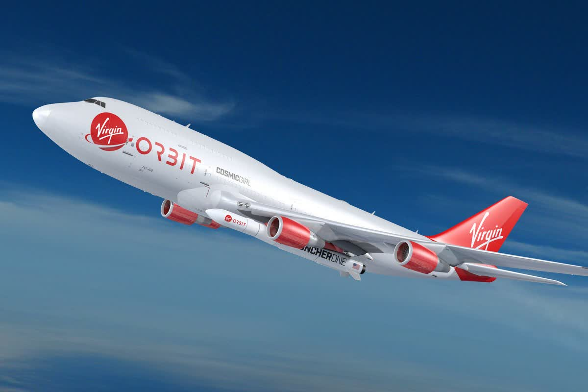 Virgin Orbit sees its first commercial launch carrying satellites for NASA