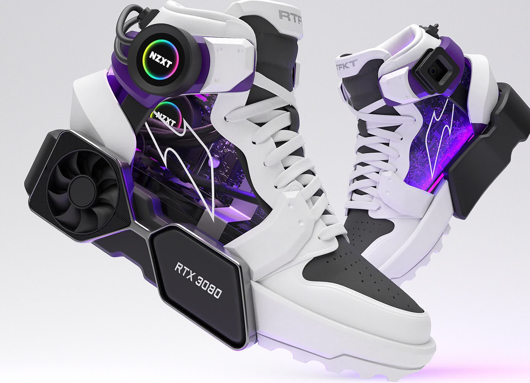 Would you buy the RTX 3080 sneakers?