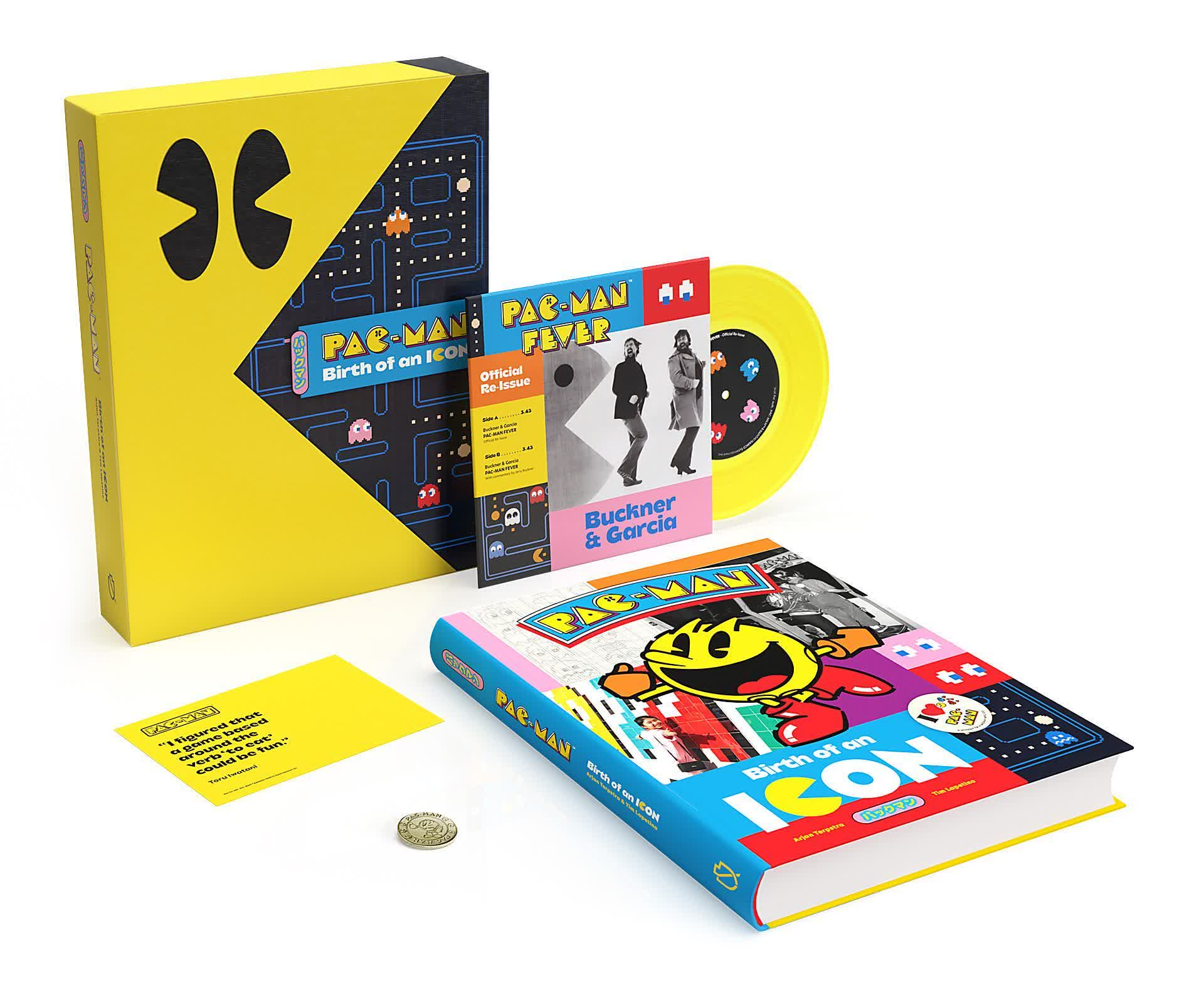 Classic video game fans will love this Pac-Man: Birth of an Icon book