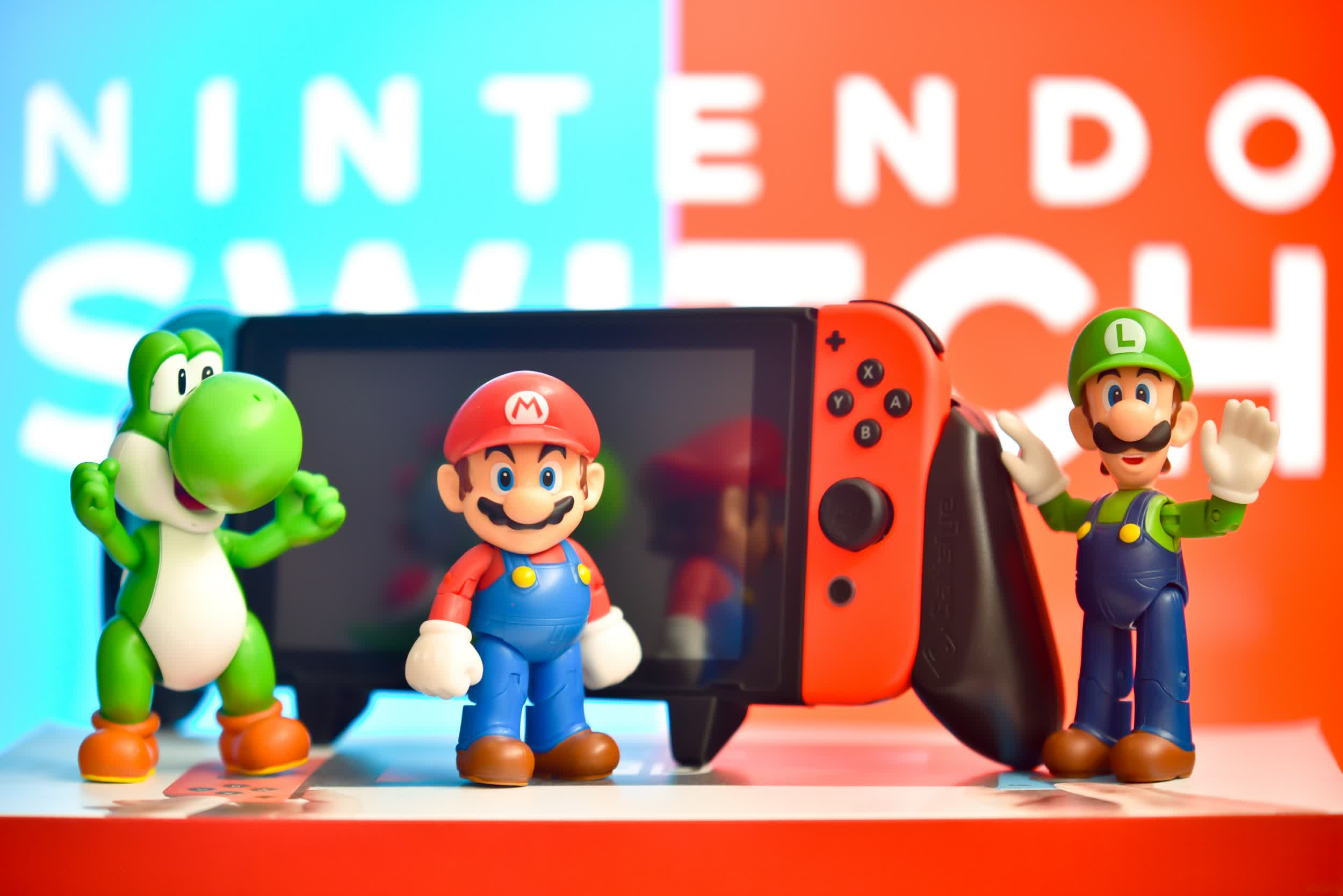 Nintendo's upgraded handheld might be called the Super Switch