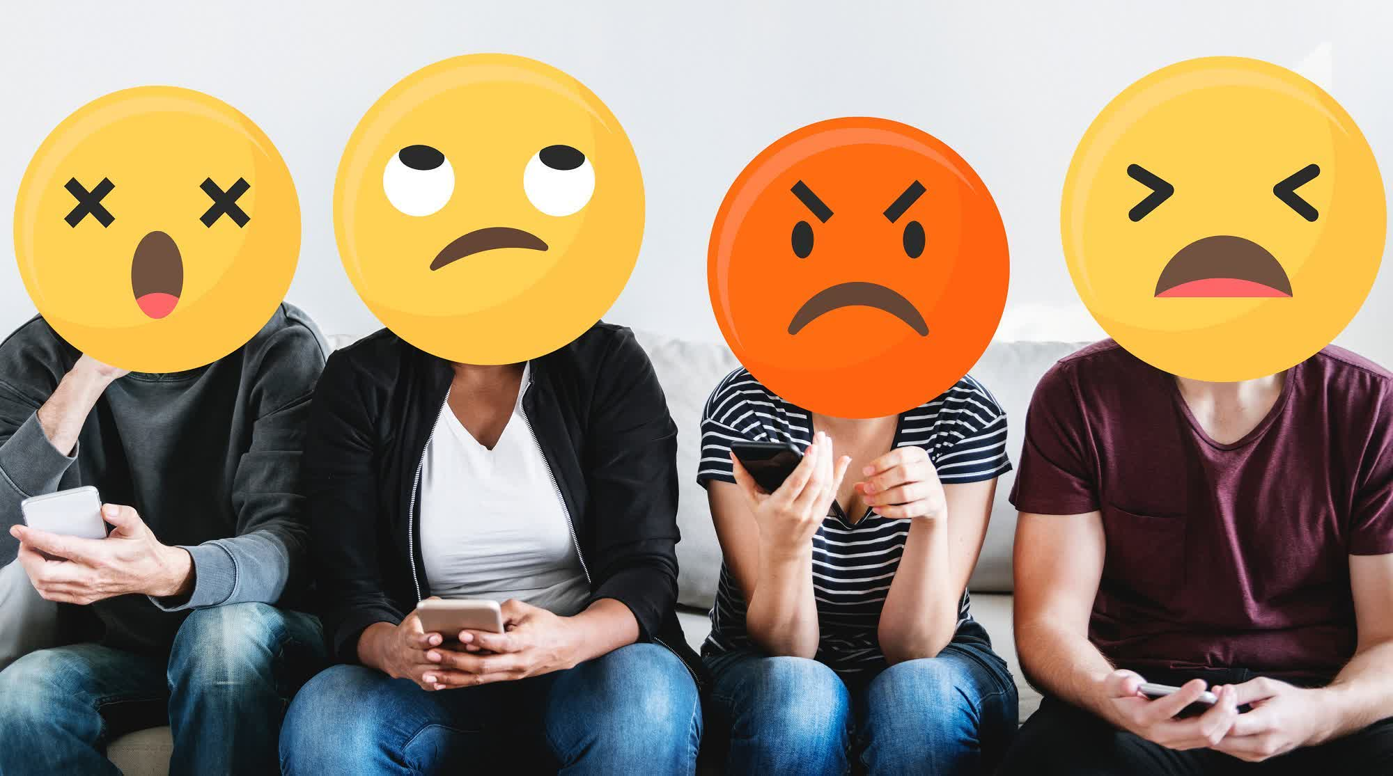 Facebook-style reactions are coming to Outlook