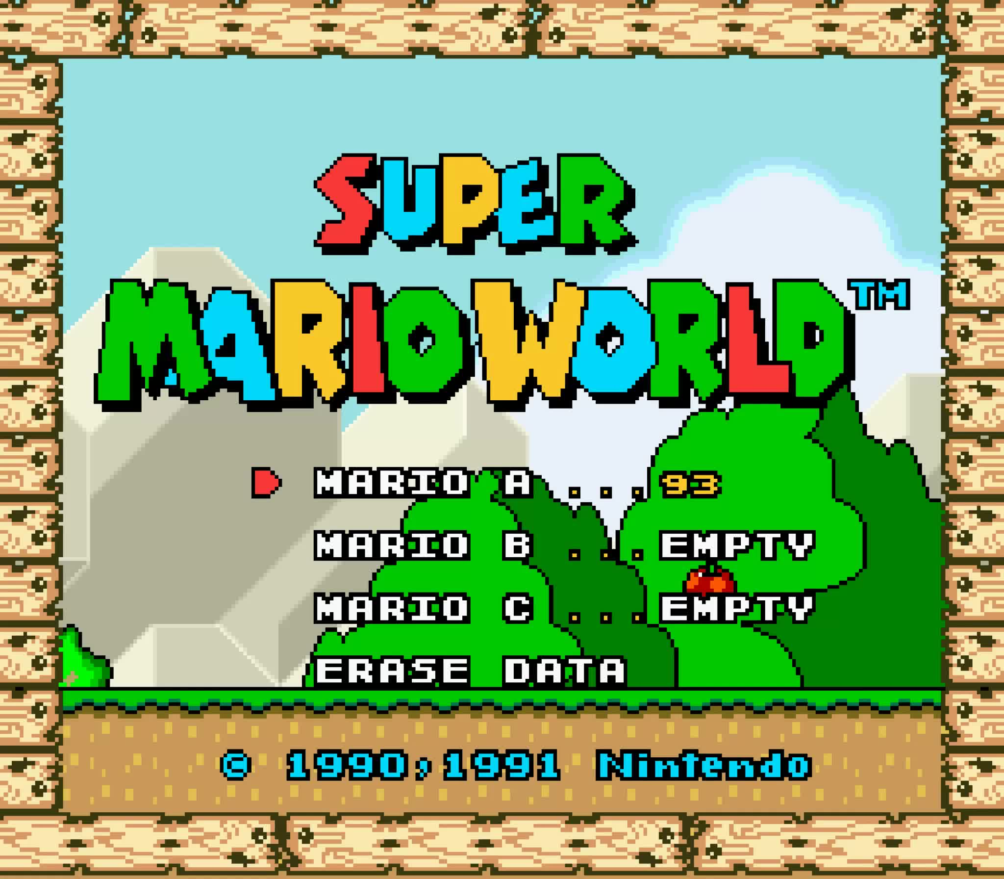 Nintendo dataminers rebuild Super Mario World soundtrack from original samples