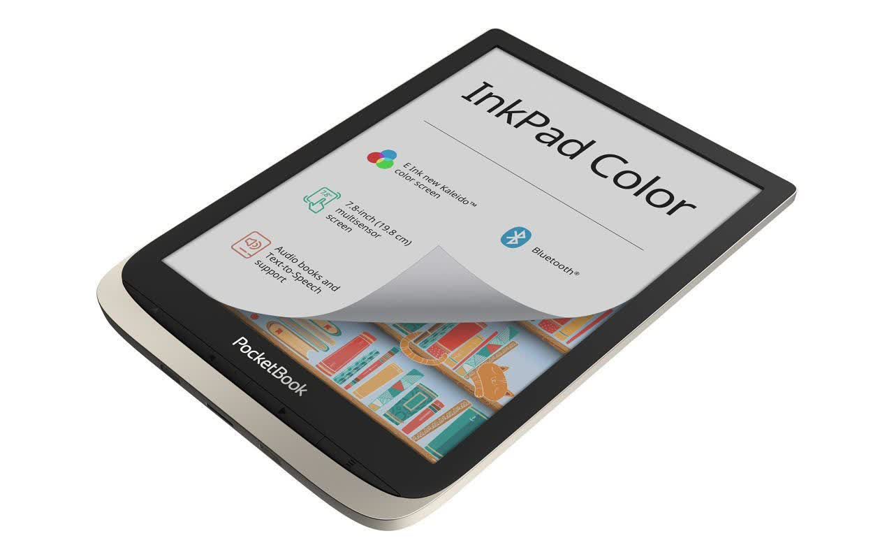 PocketBook's 7.8-inch color e-reader is now available to buy