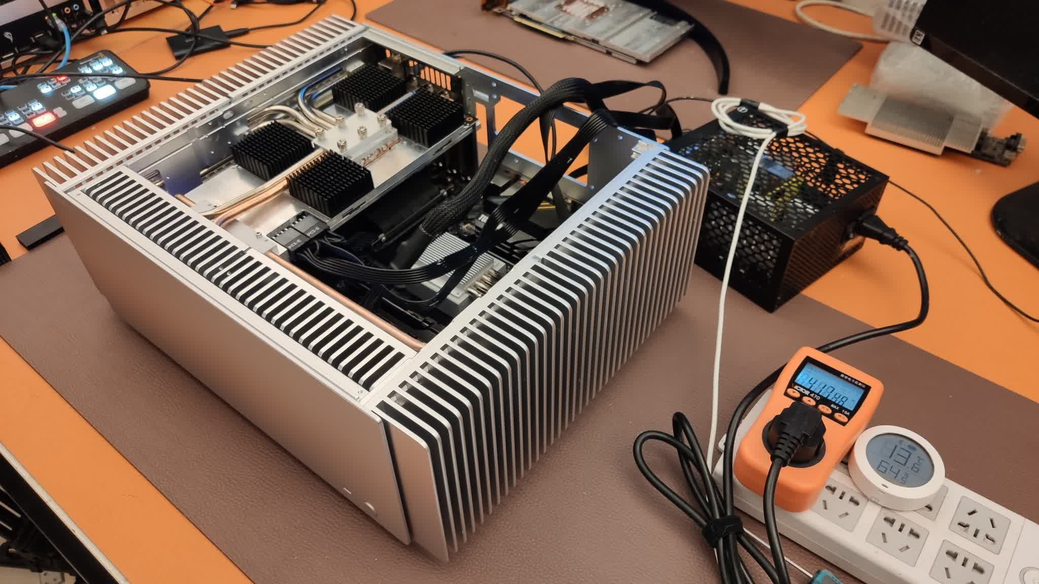 You can have a passively-cooled GeForce RTX 3080... for a price