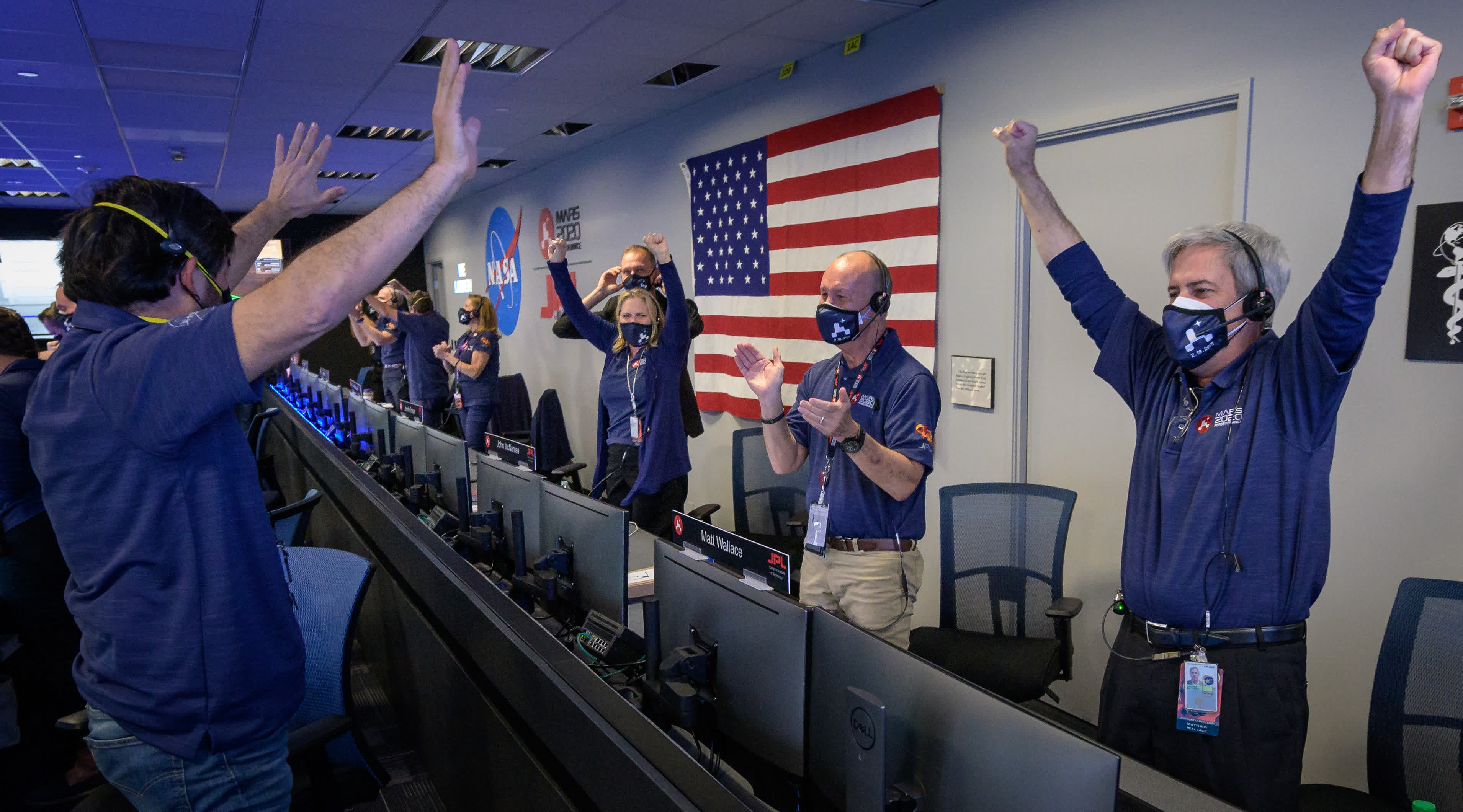 Touchdown: NASA's Mars Perseverance rover lands safely on the Red Planet