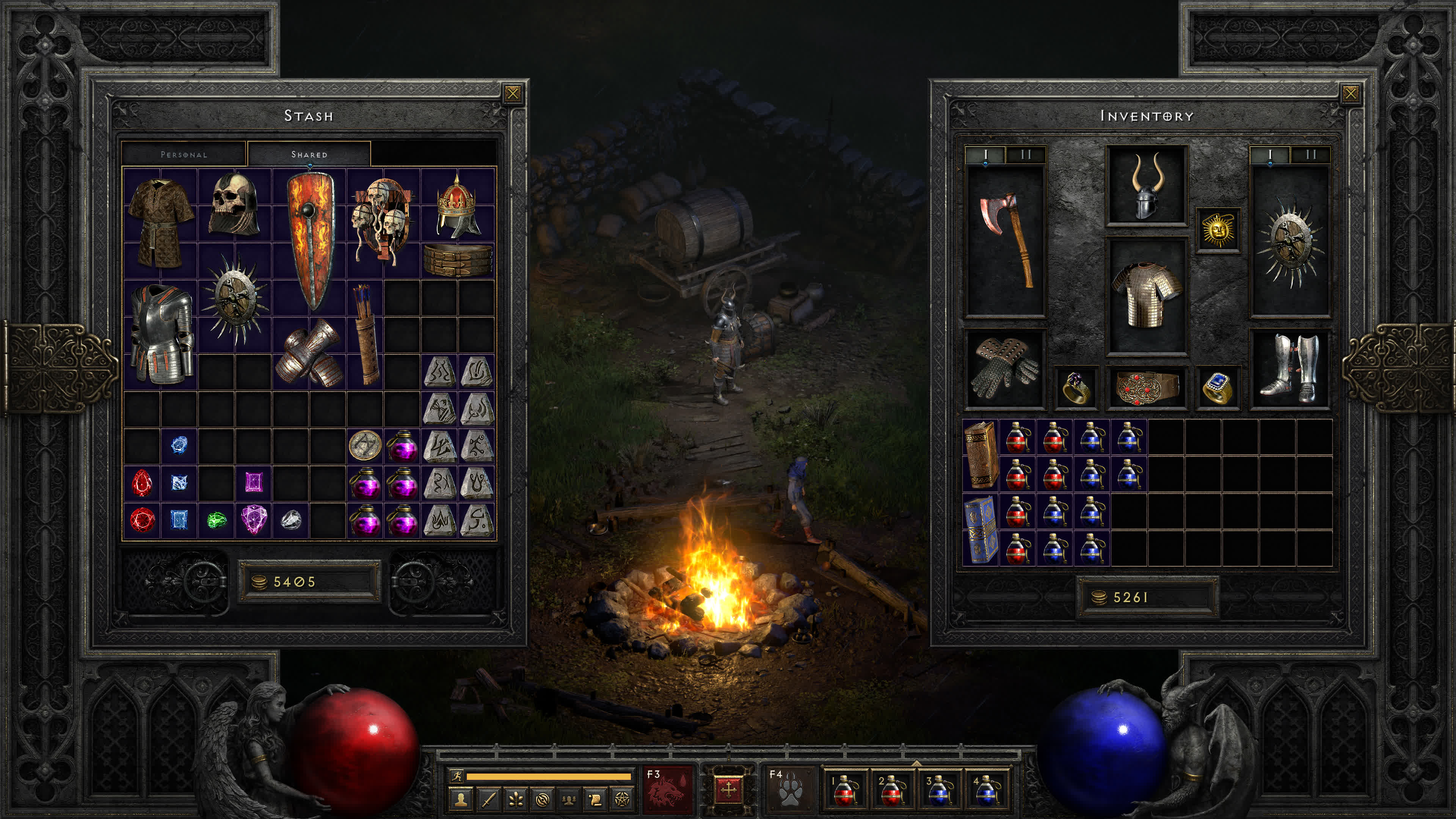 diablo ii resurrected will be a faithful remaster of the