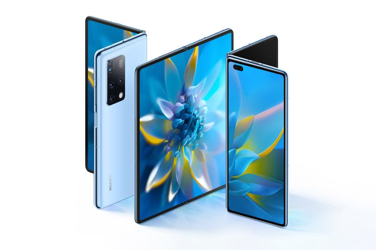 Huawei unveils the Mate X2, a dual-screen device with a $2,800 price tag