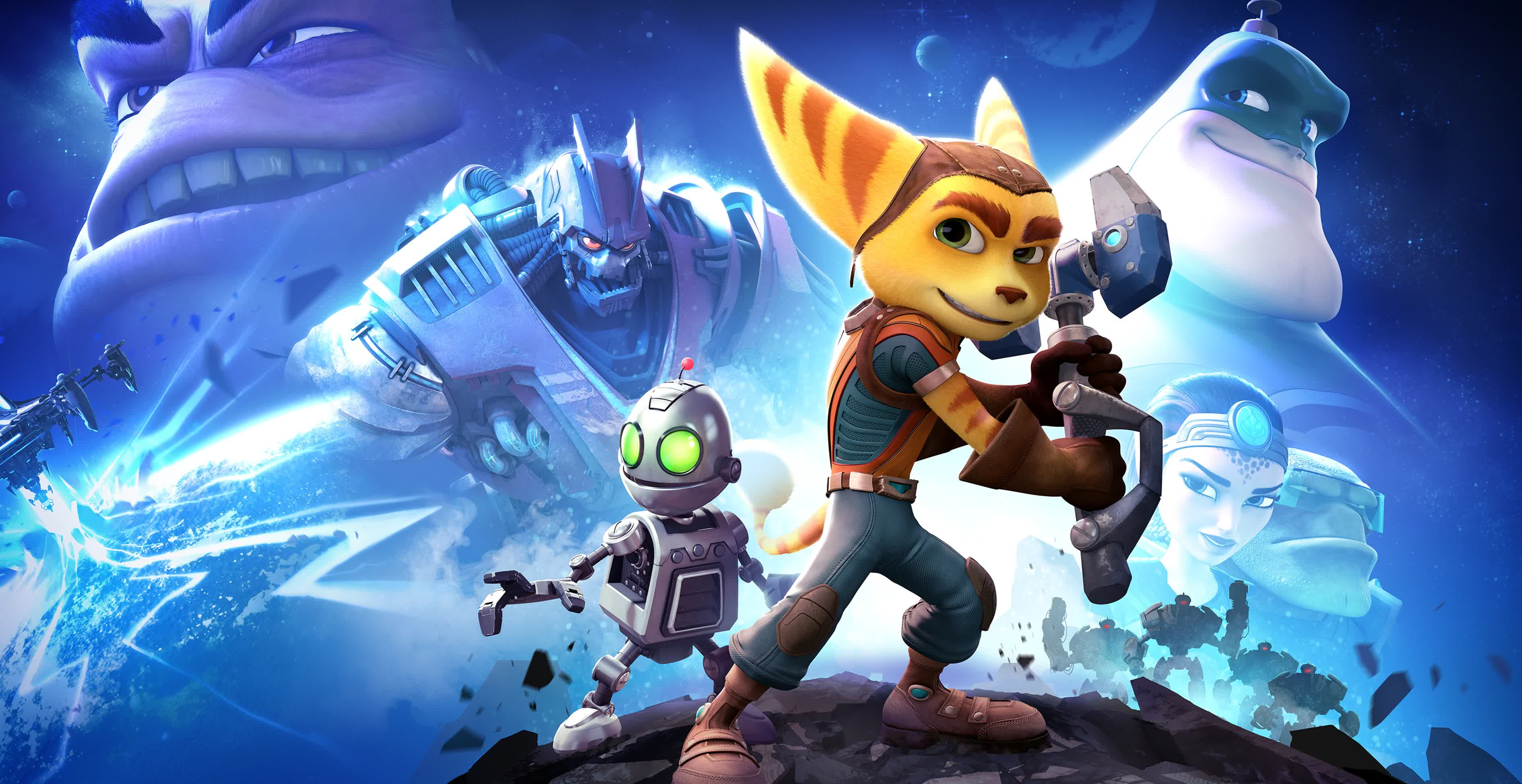 Sony is giving away a free copy of Ratchet & Clank for PS4 next month