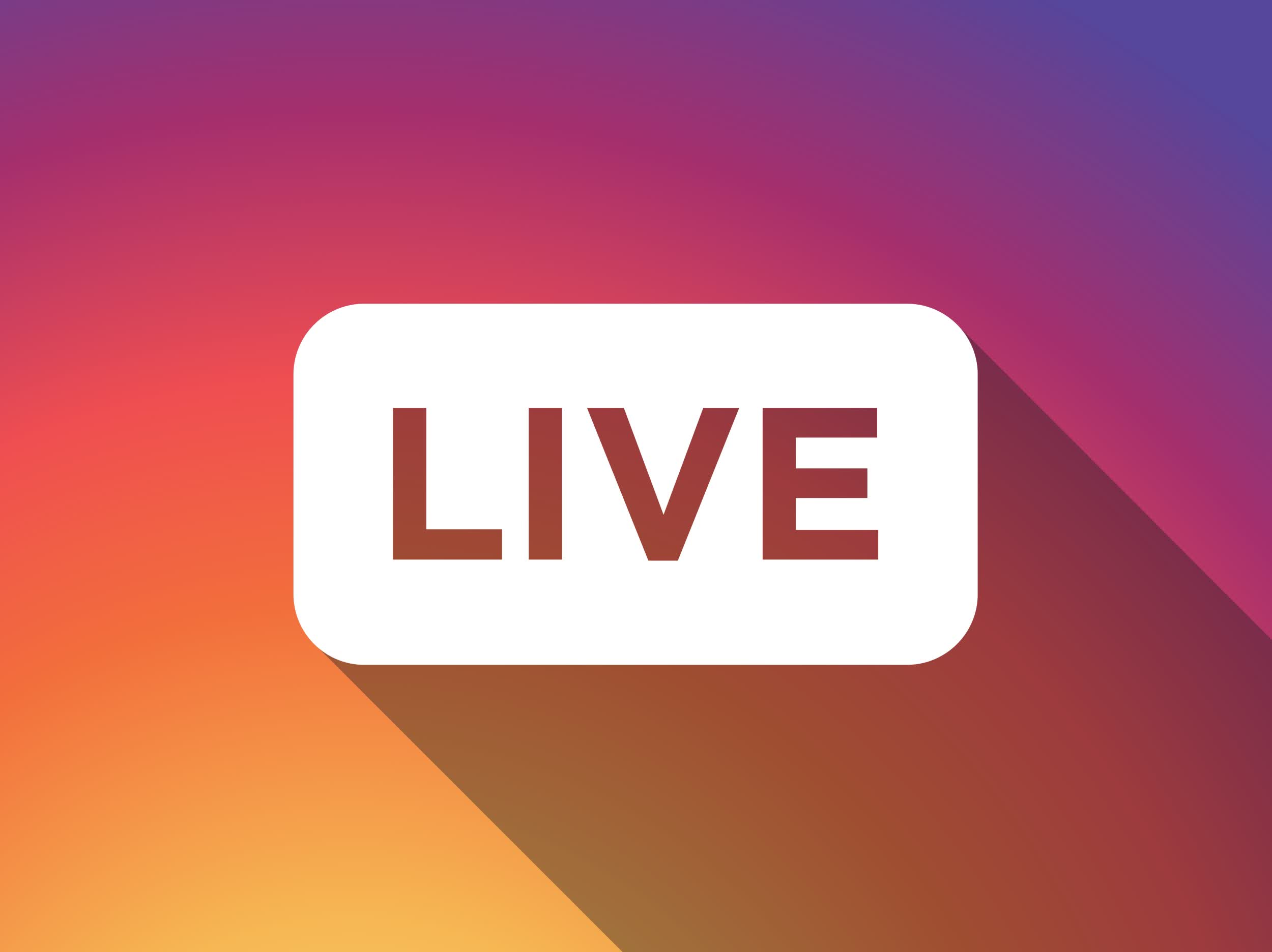 Instagram Live Rooms lets up to four people broadcast simultaneously