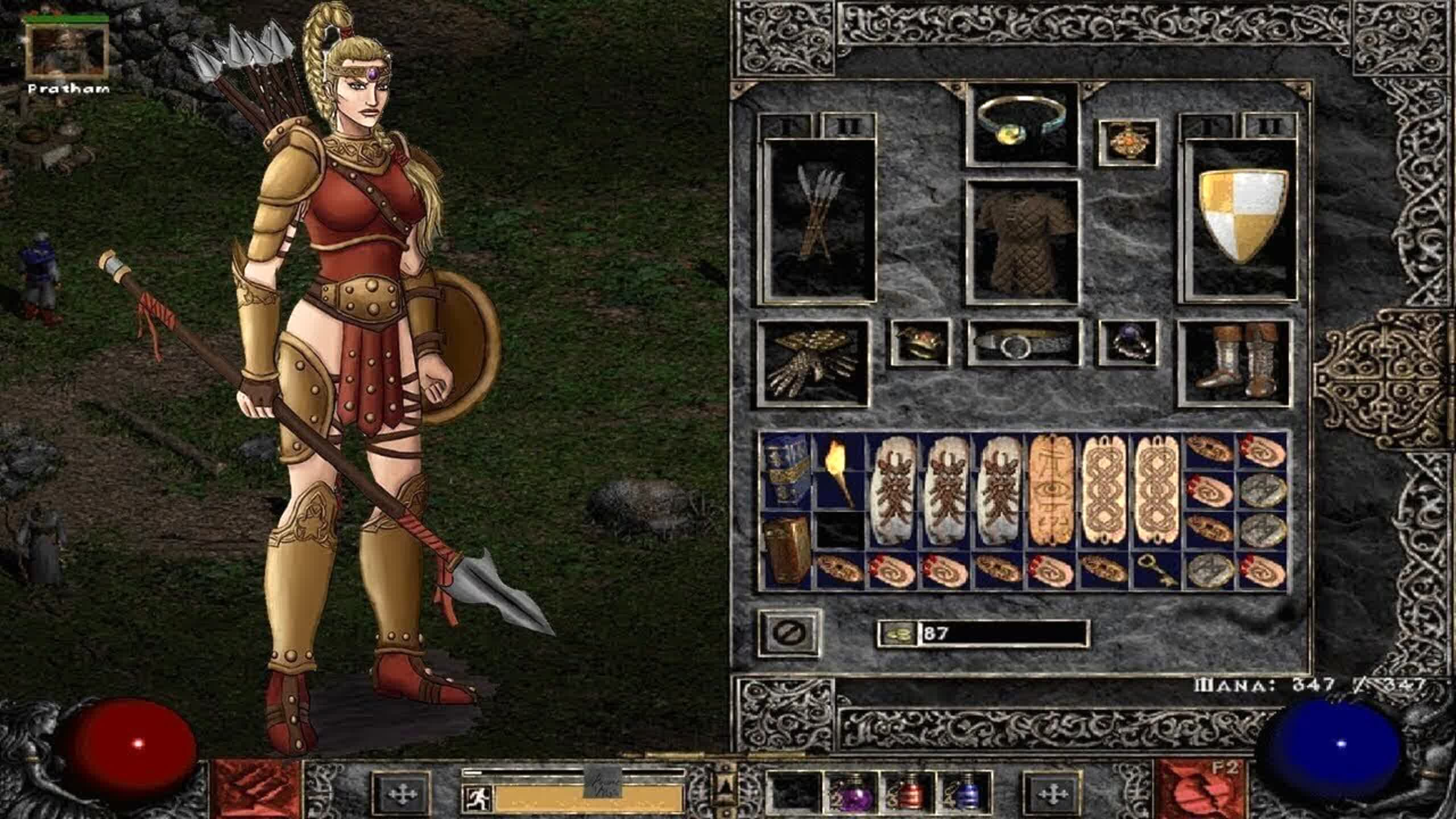 Diablo II: Resurrected will let you load the original game's save files