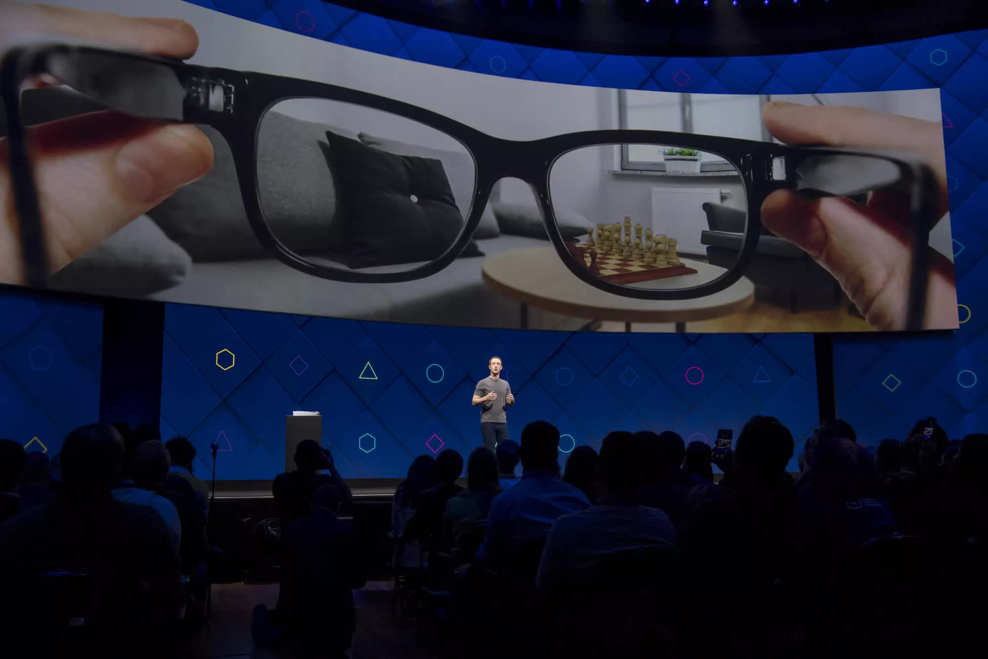 Mark Zuckerberg envisions a future where you could use AR glasses to teleport for in-person meetings