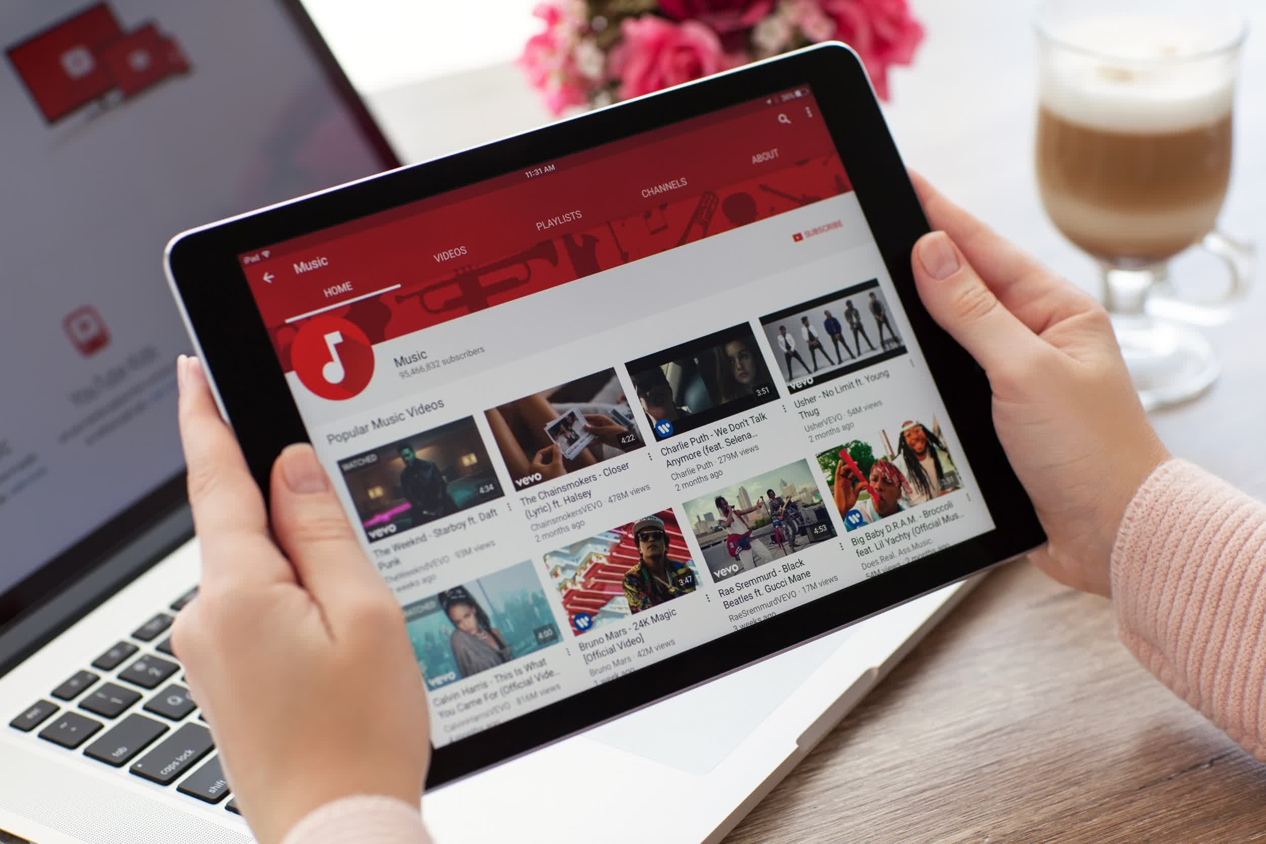 YouTube is experimenting with a tool that checks for copyright violations during video uploads