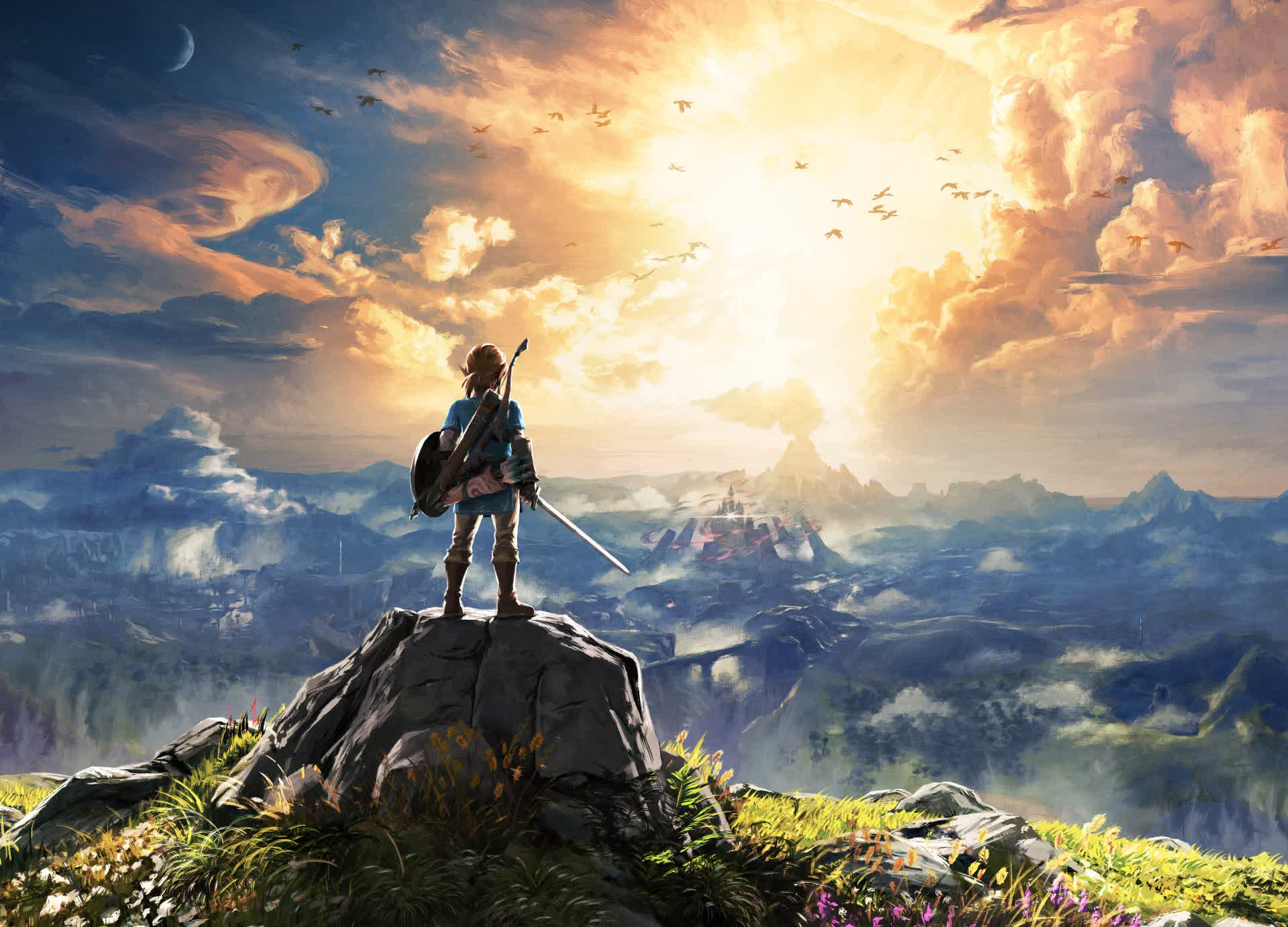The Legend of Zelda: Breath of the Wild is gorgeous in 8K with ray tracing