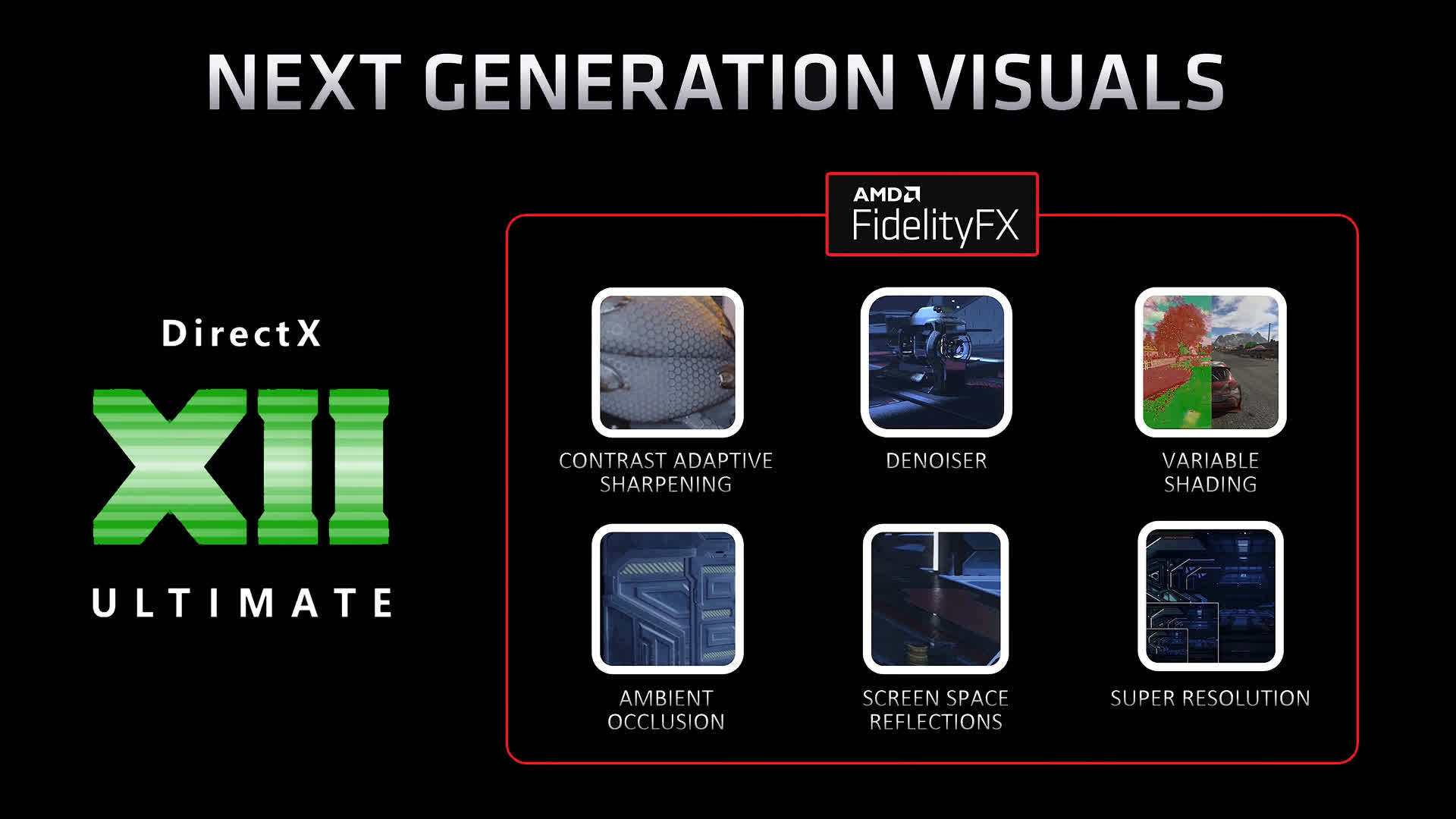 FidelityFX Super Resolution is AMD's answer to Nvidia's DLSS, set to debut this year