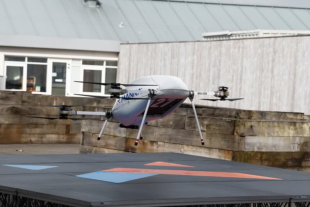 Samsung to start delivering Galaxy products by drone in Ireland
