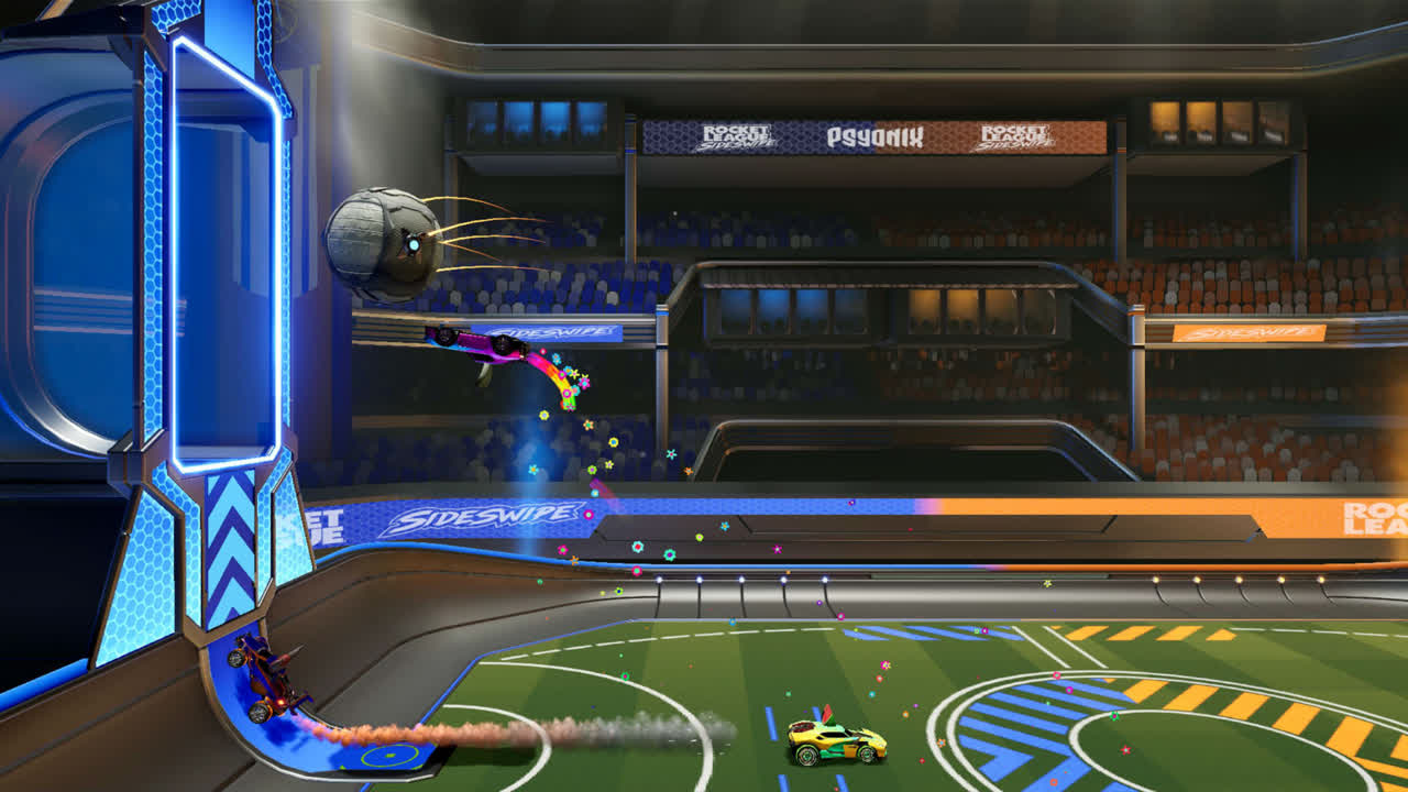 <p>Rocket League Sideswipe is a 2D take on Psyonix's popular soccer-with-cars game for mobile devices thumbnail