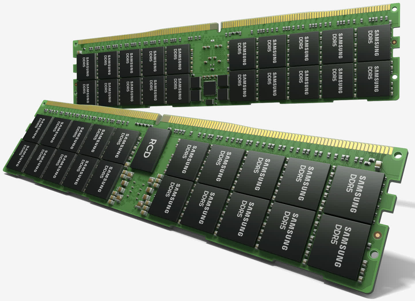 Samsung's 512GB HKMG-based DDR5 is fast and efficient