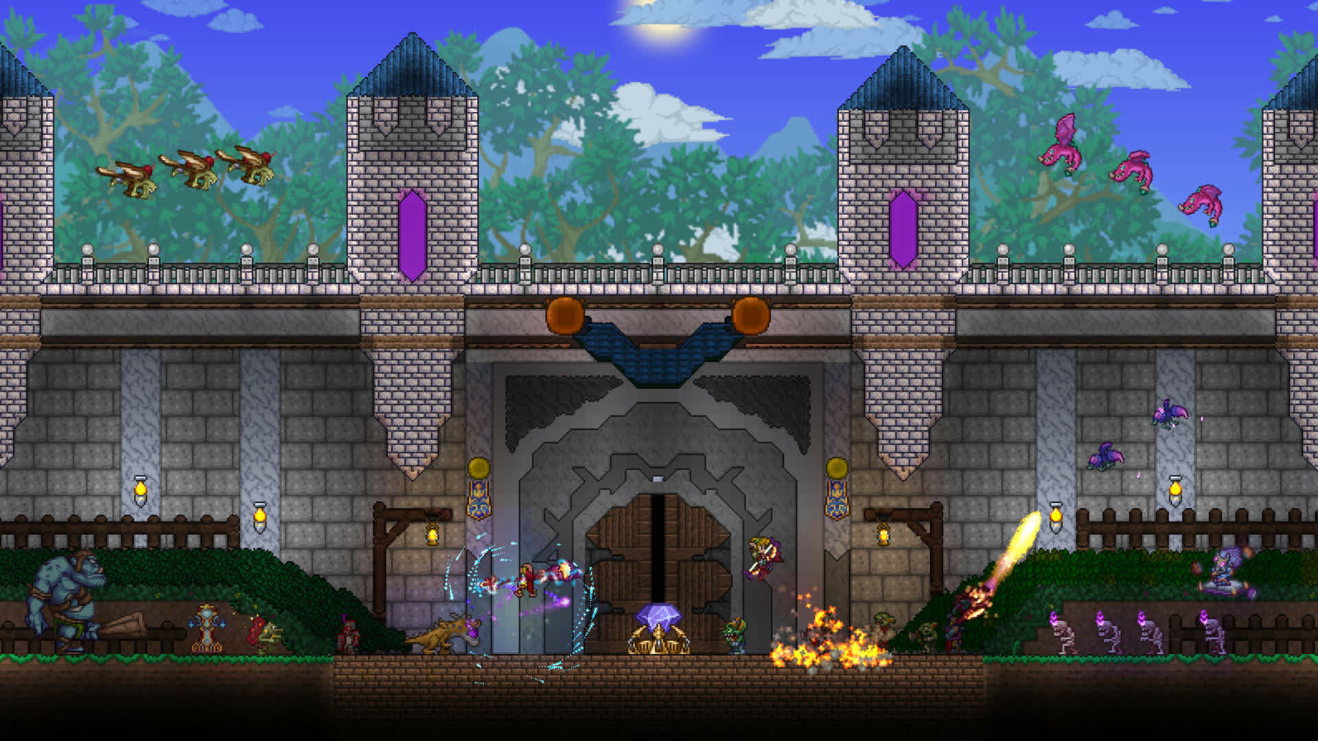 Terraria receives support for Steam Workshop mods over 10 years after launch