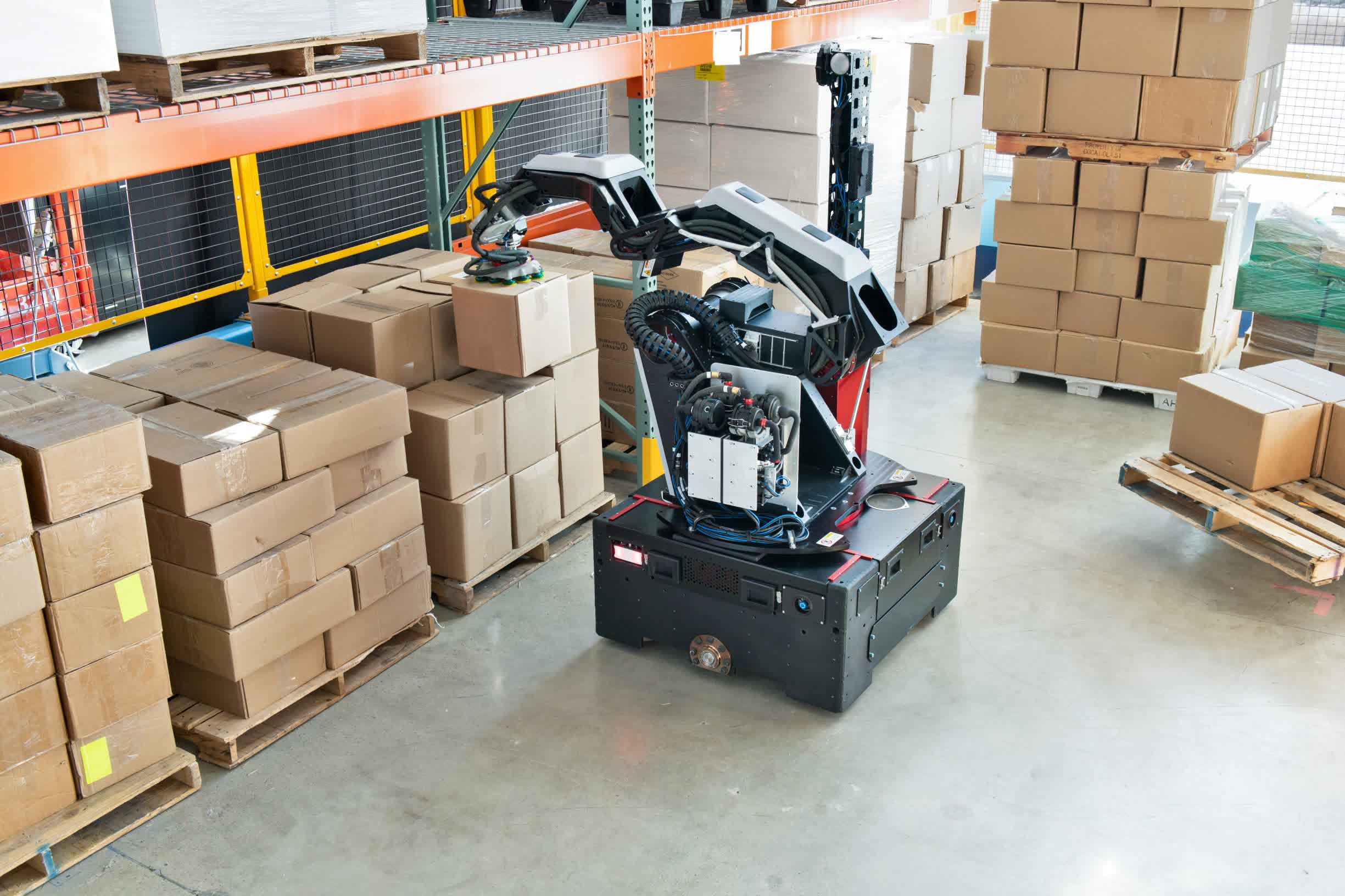 Boston Dynamics' latest creation is a robotic warehouse assistant named Stretch