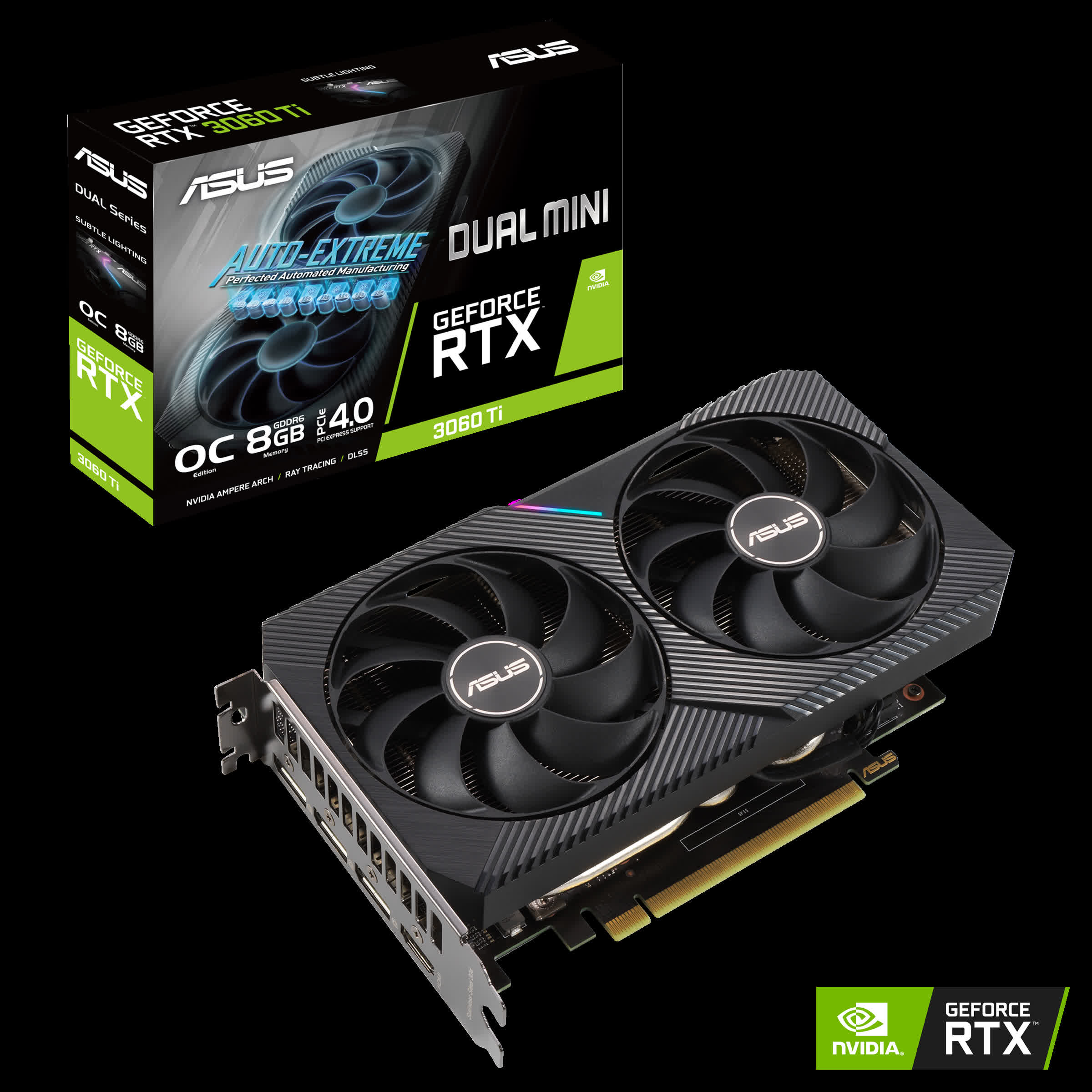 Asus reveals tiny RTX 3060 perfect for mini-ITX systems