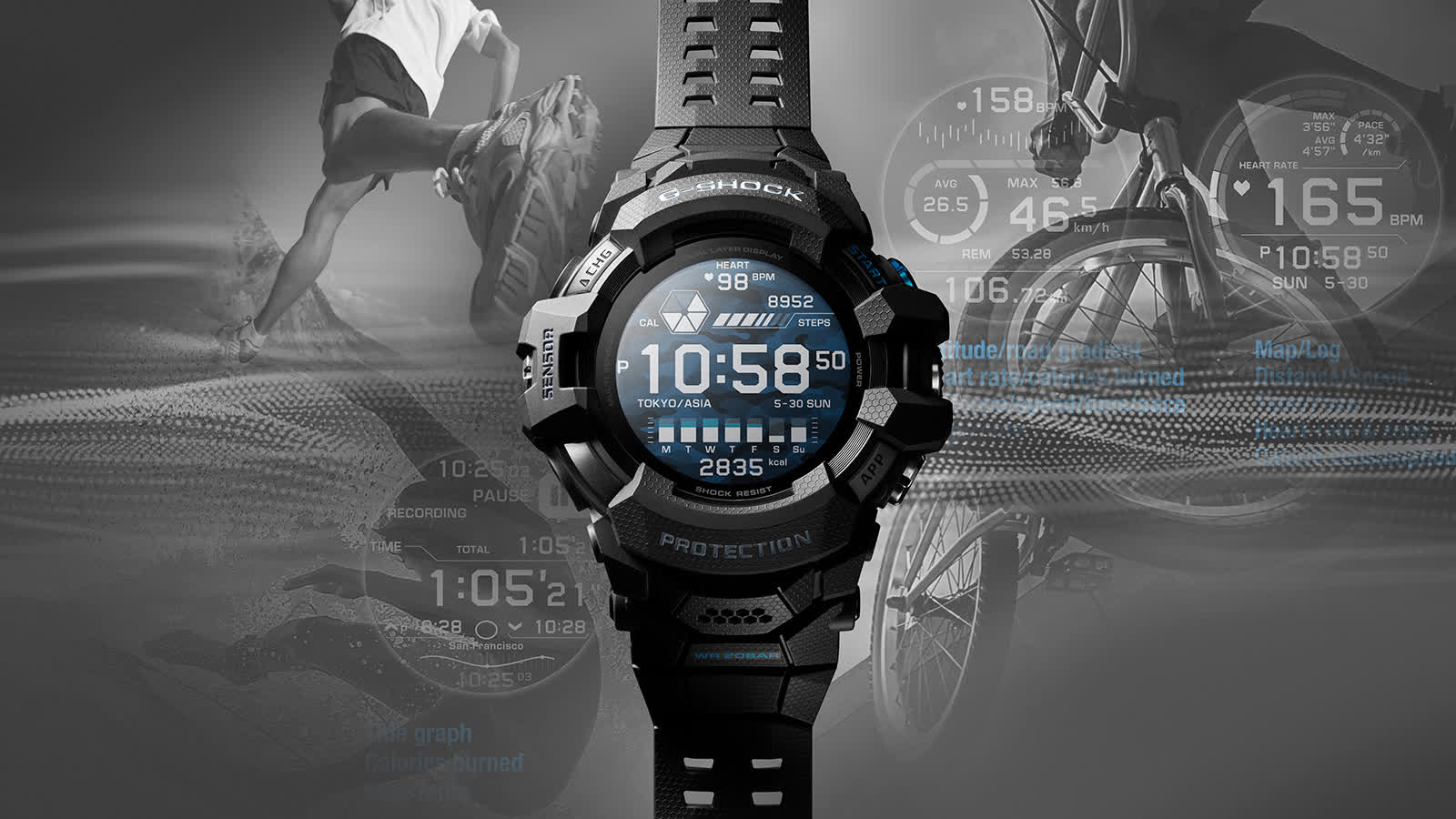 Casio adds Wear OS to latest G-Shock watch for the first time