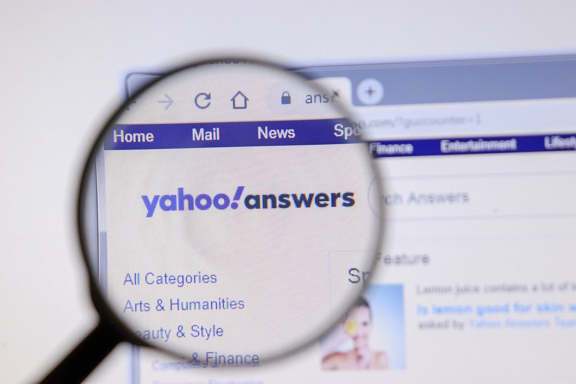 Yahoo Answers is shutting down after 16 years