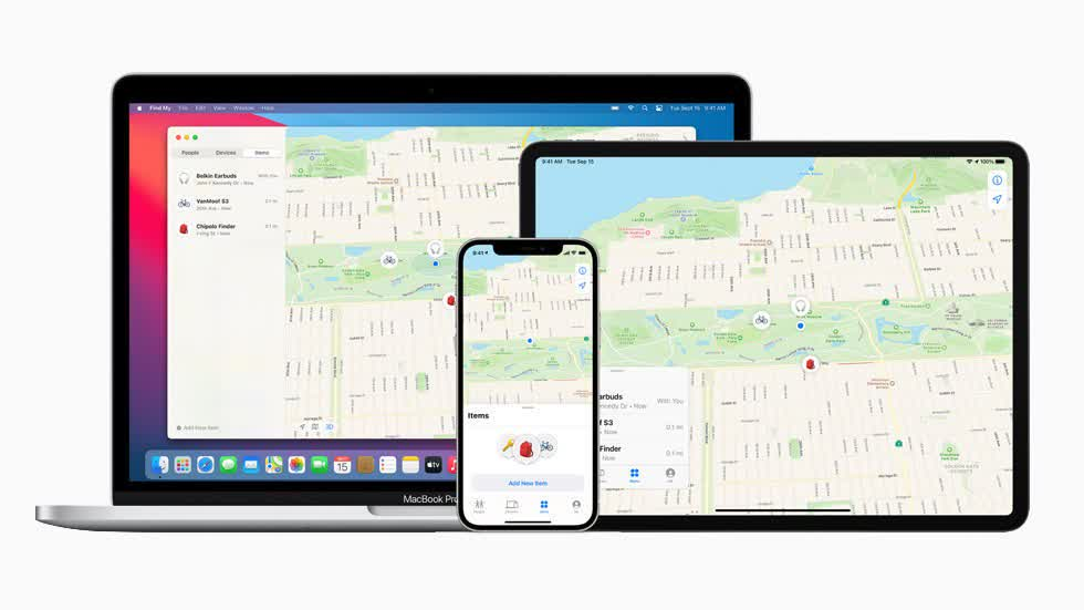 Apple expands Find My tracking network to third-party accessories thumbnail