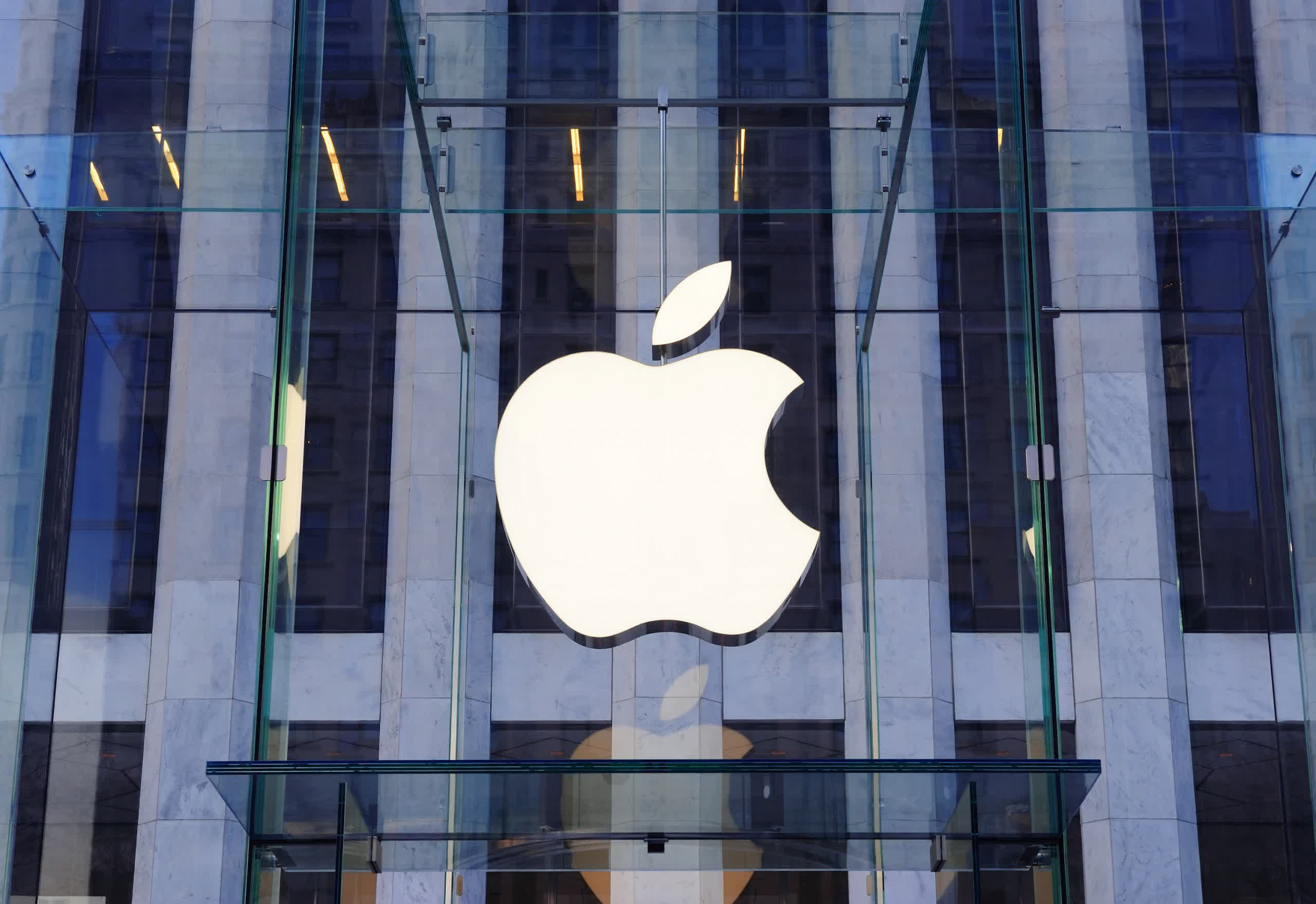 Apple moves to block bottled water logo almost identical to its trademark