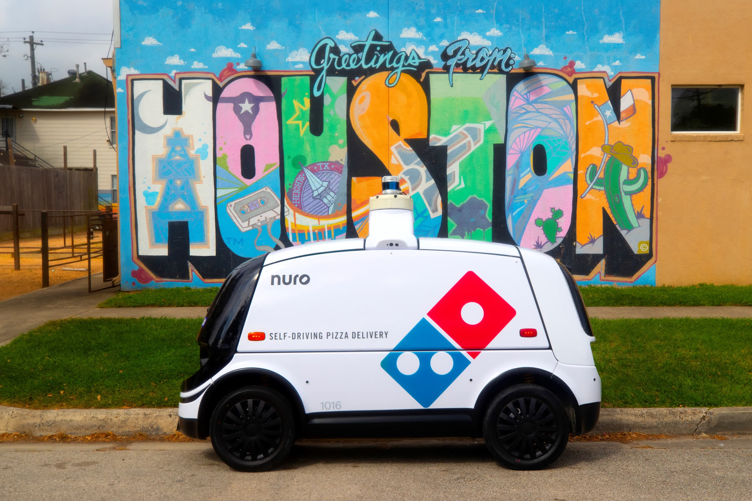 Domino's starts self-driving pizza delivery service with Nuro autonomous cars