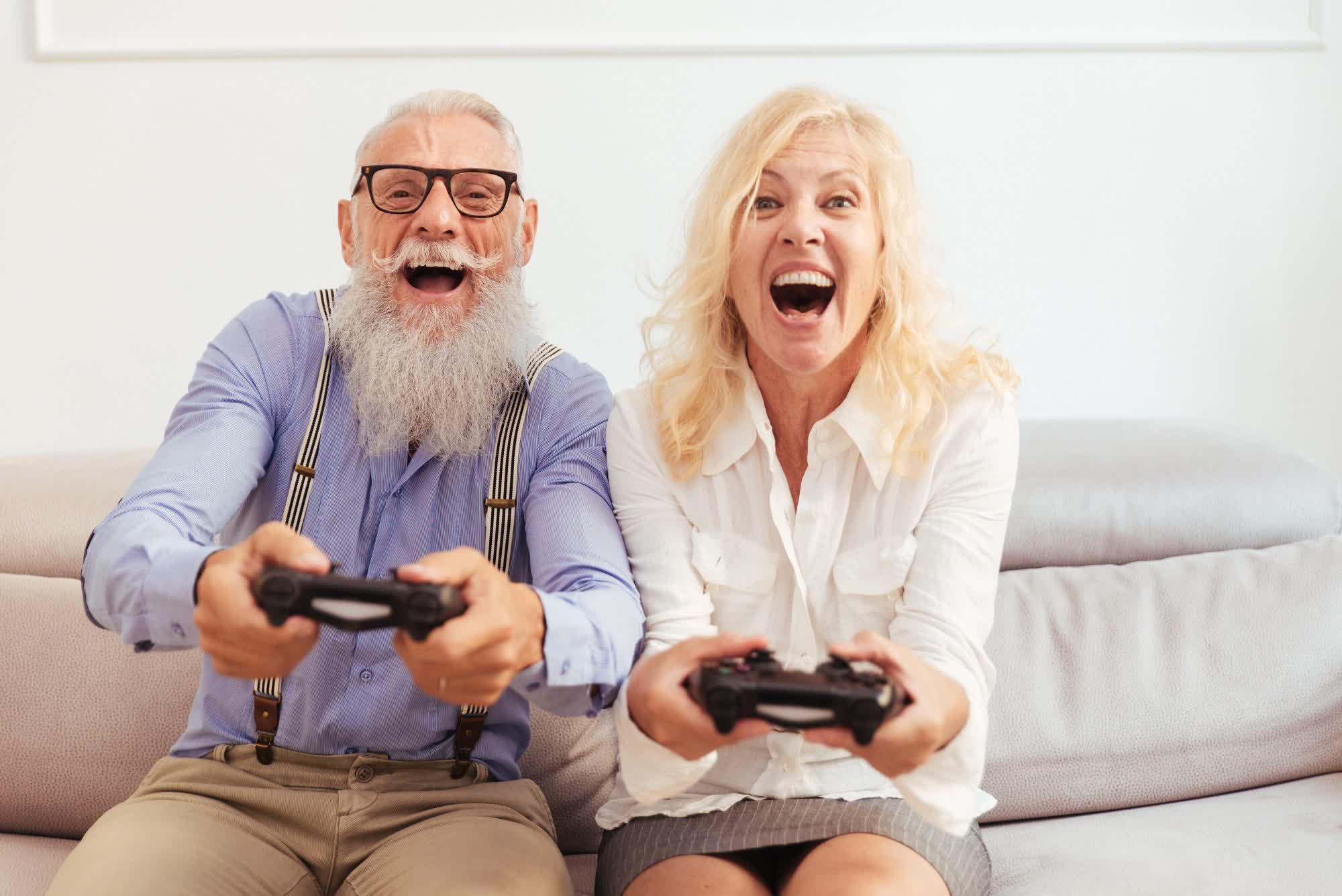 More Gen Xers and Baby Boomers are playing games