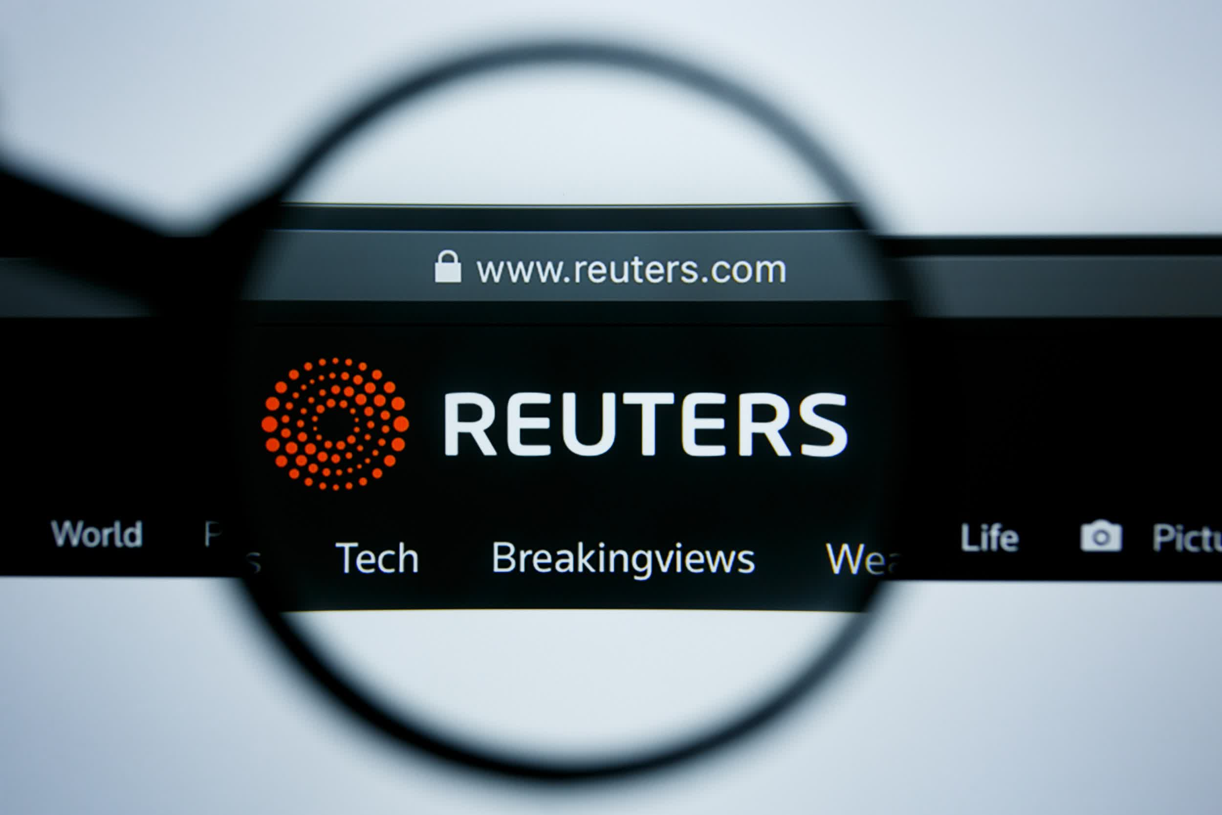 Reuters Announces  Monthly Paywall