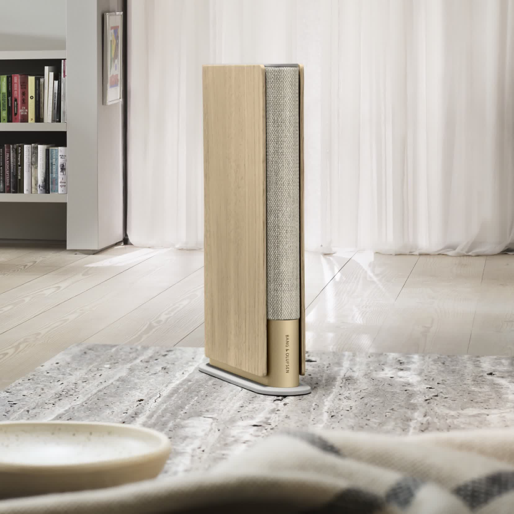 Bang & Olufsen Beosound Emerge is a uniquely designed speaker that looks like a book
